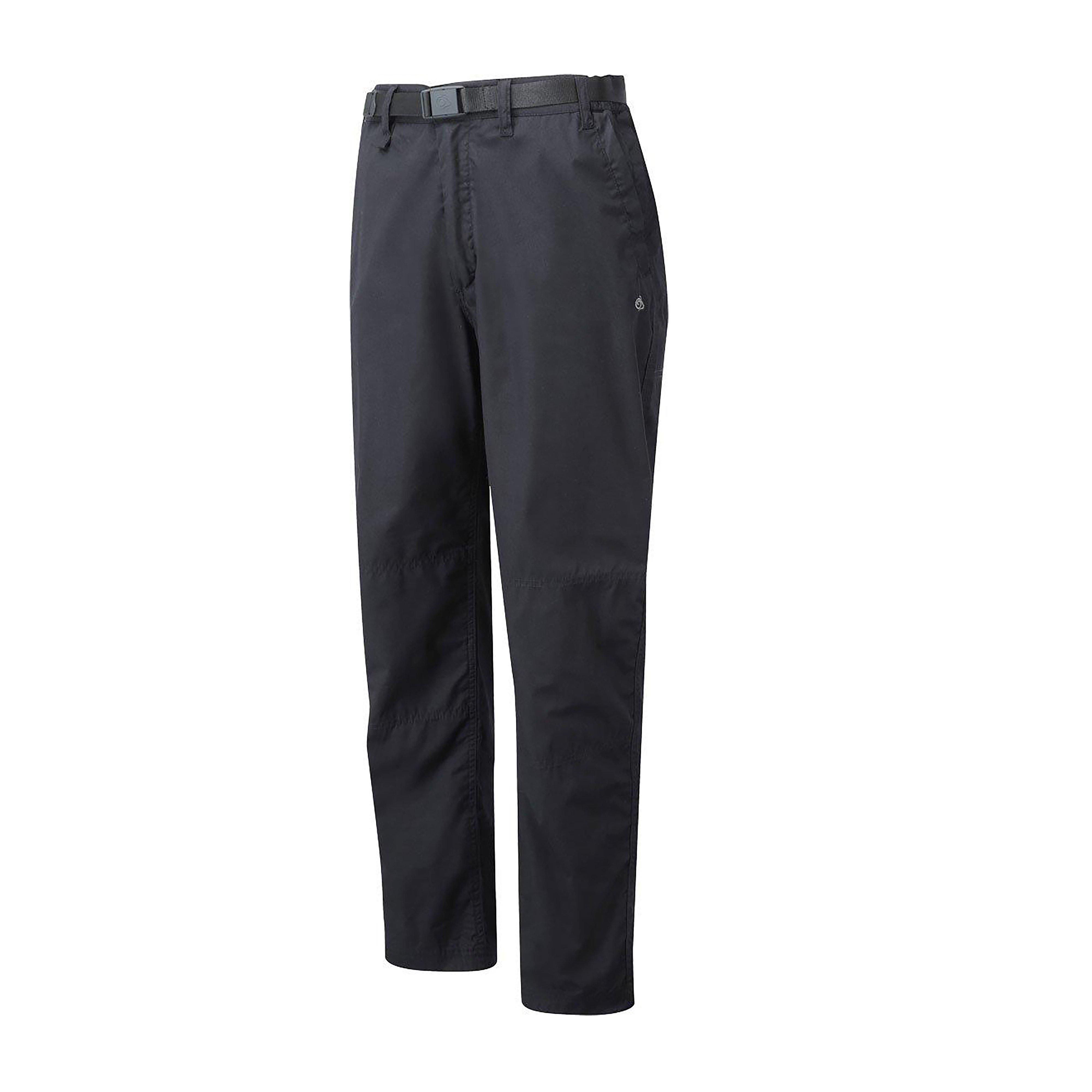 Craghoppers Mens Classic Kiwi Trousers Black