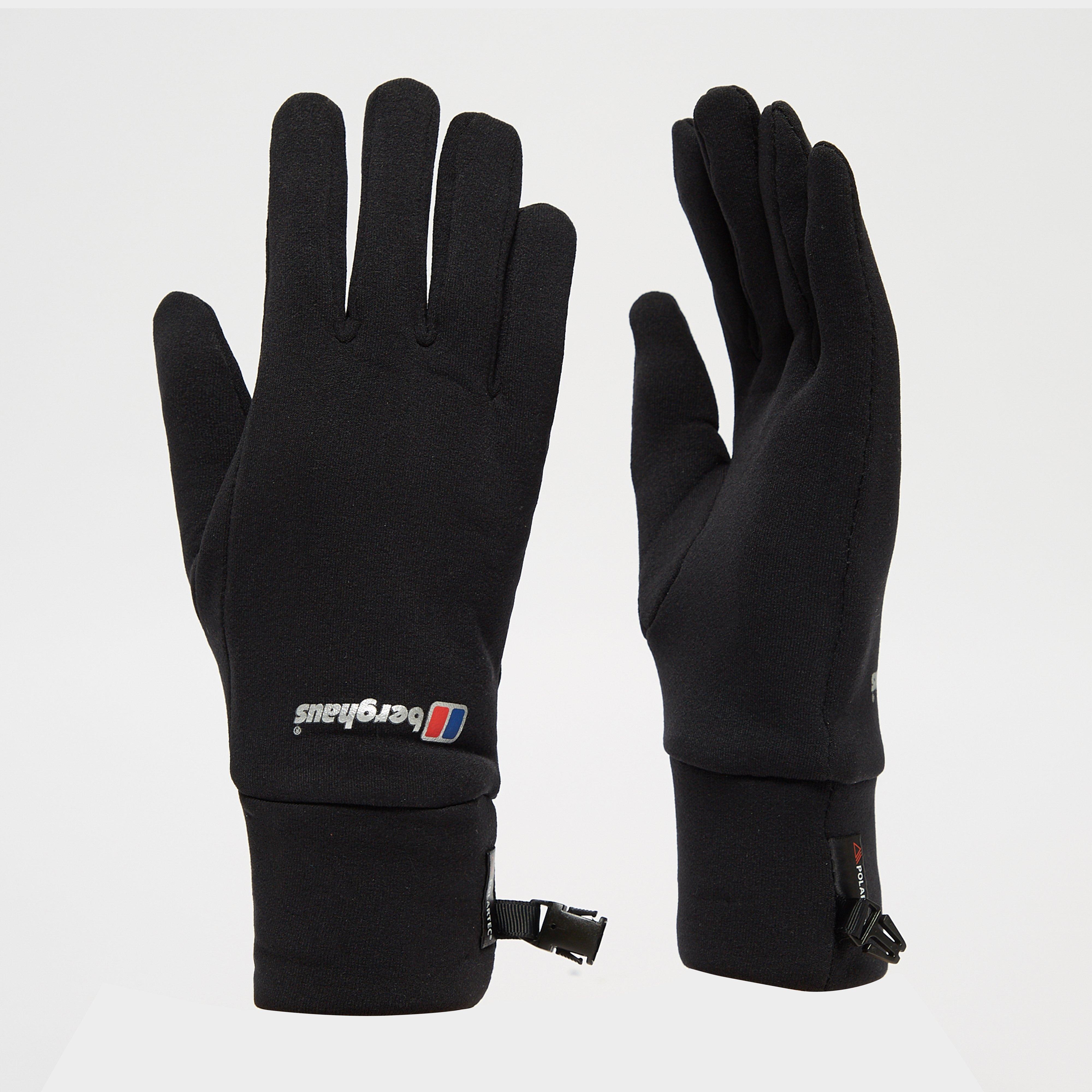 Berghaus Power Stretch Gloves - Black, Black