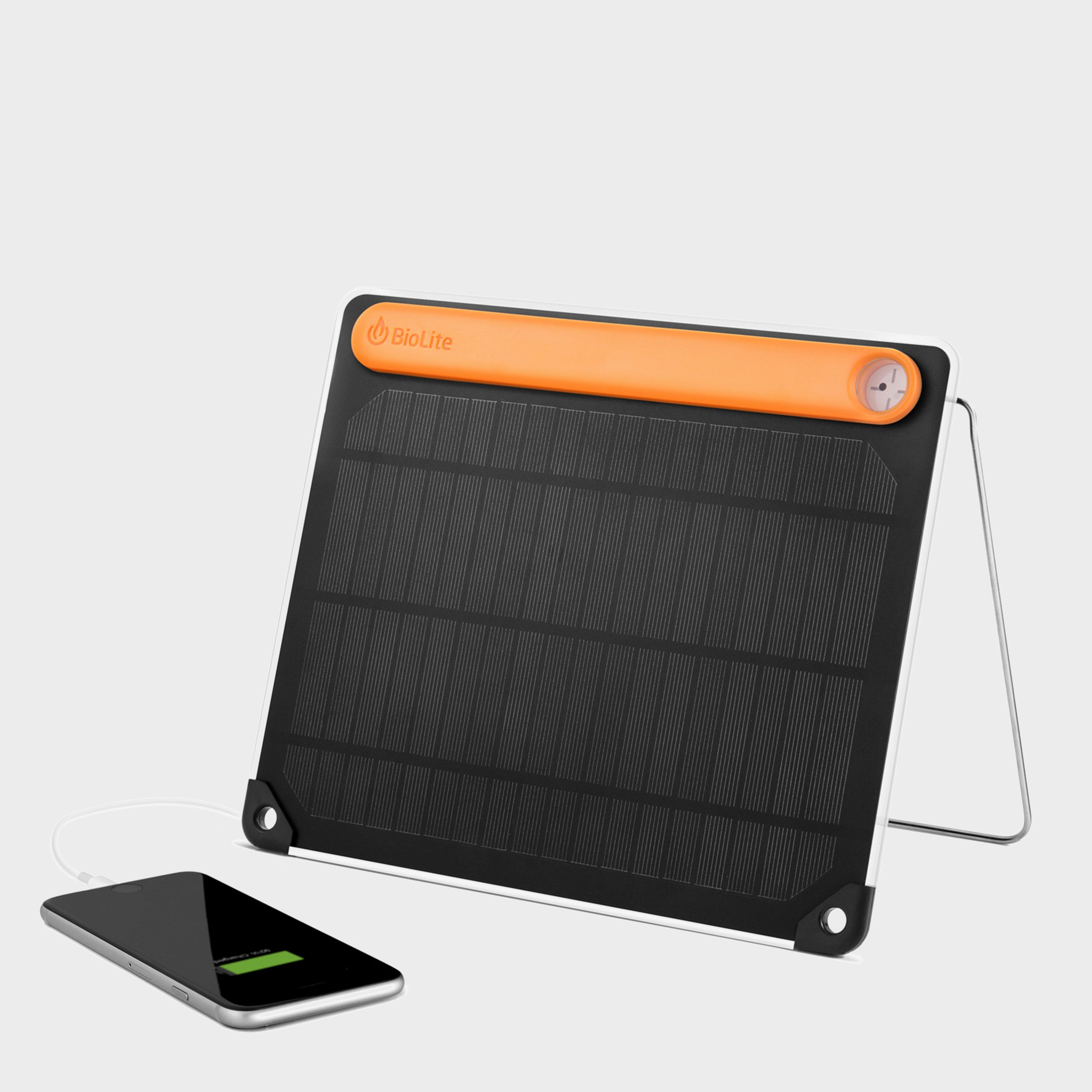 Biolite Solar Panel 5+ - Black/plus  Black/plus