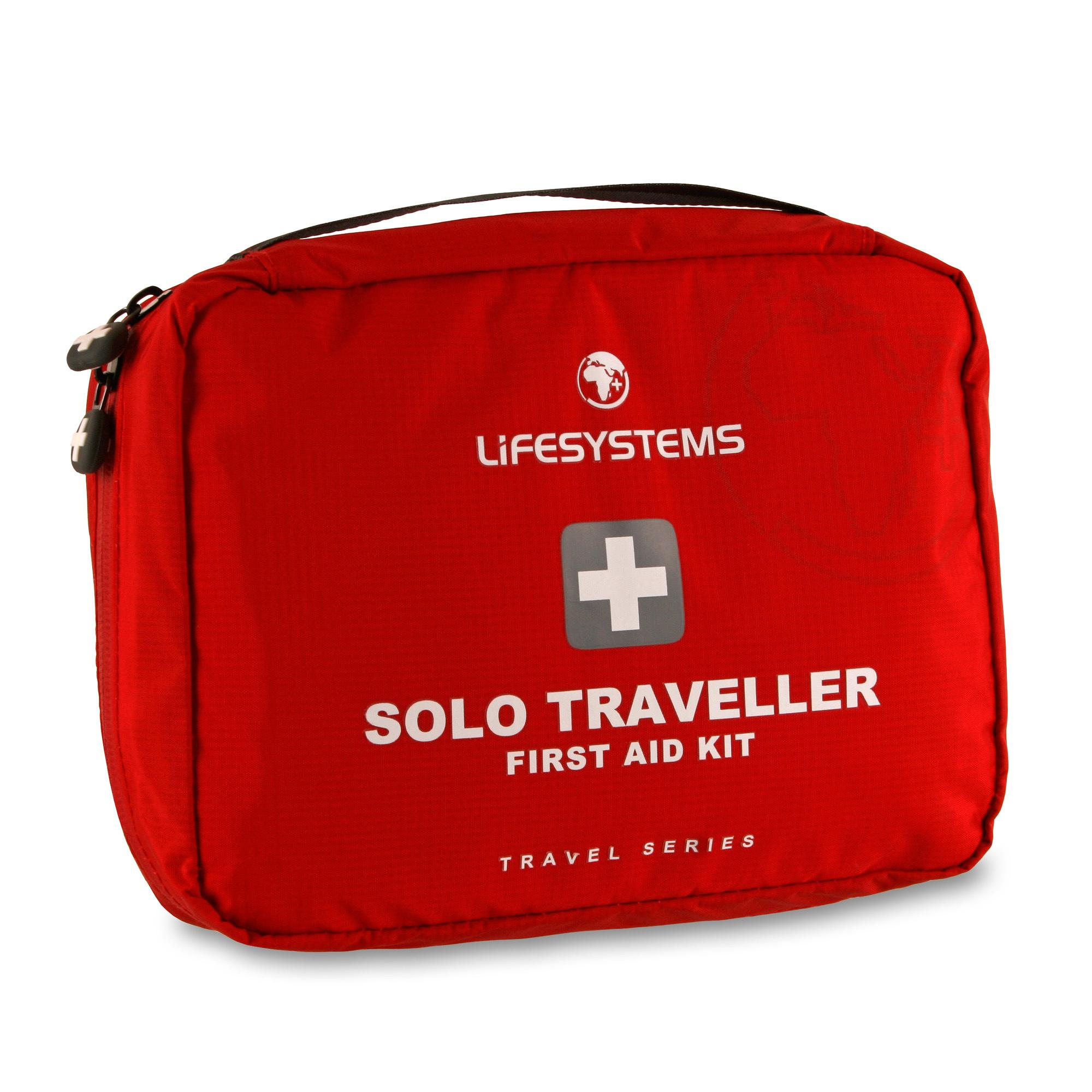 Lifesystems Solo Traveller First Aid Kit Red