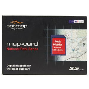 SATMAP Peak District SD Card