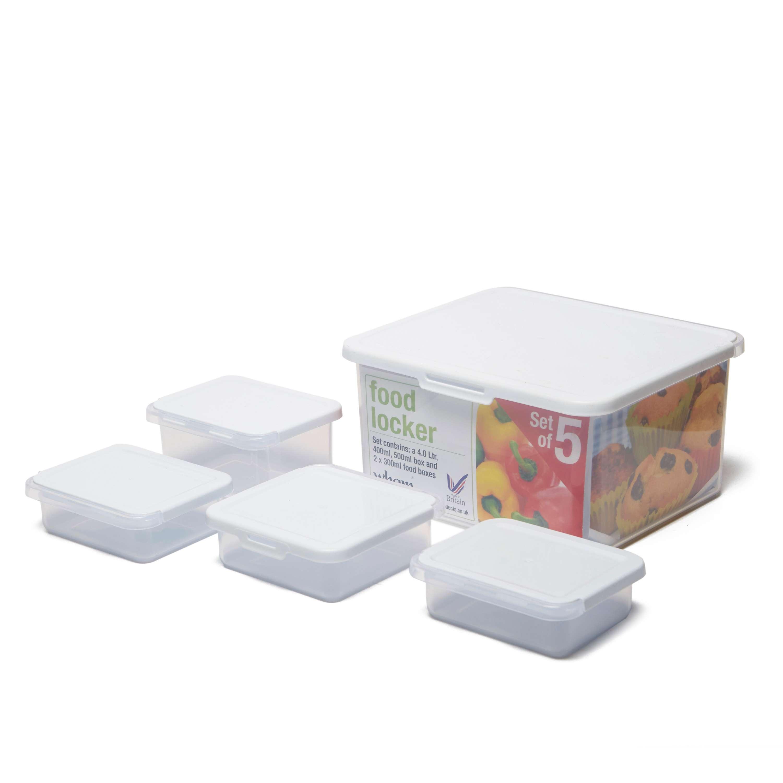 WHAM Set of 5 Food Locker Boxes