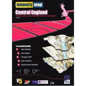 MEMORY MAP Landranger Region 2 CD ROM