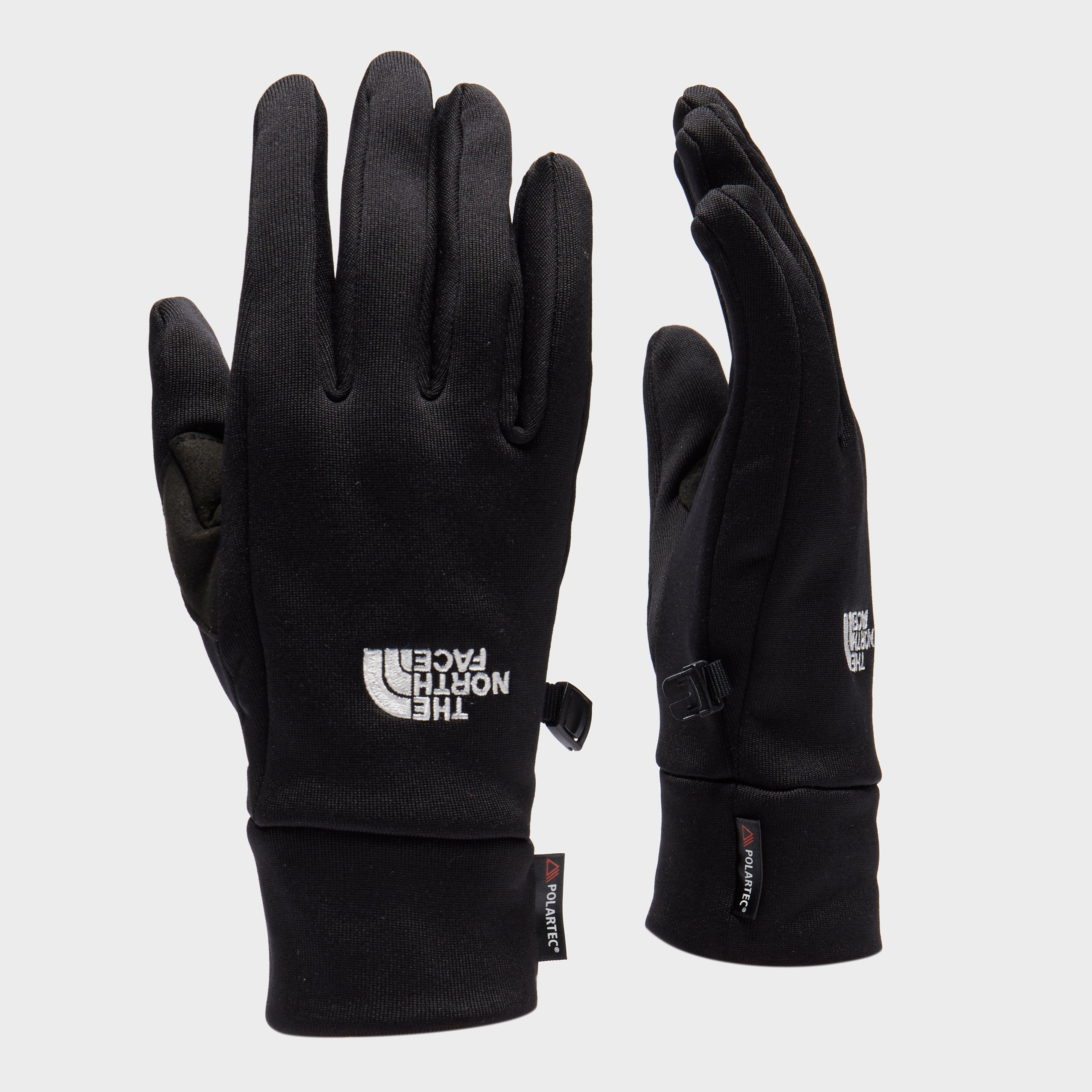 The North Face Unisex Powerstretch Gloves - Black, Black