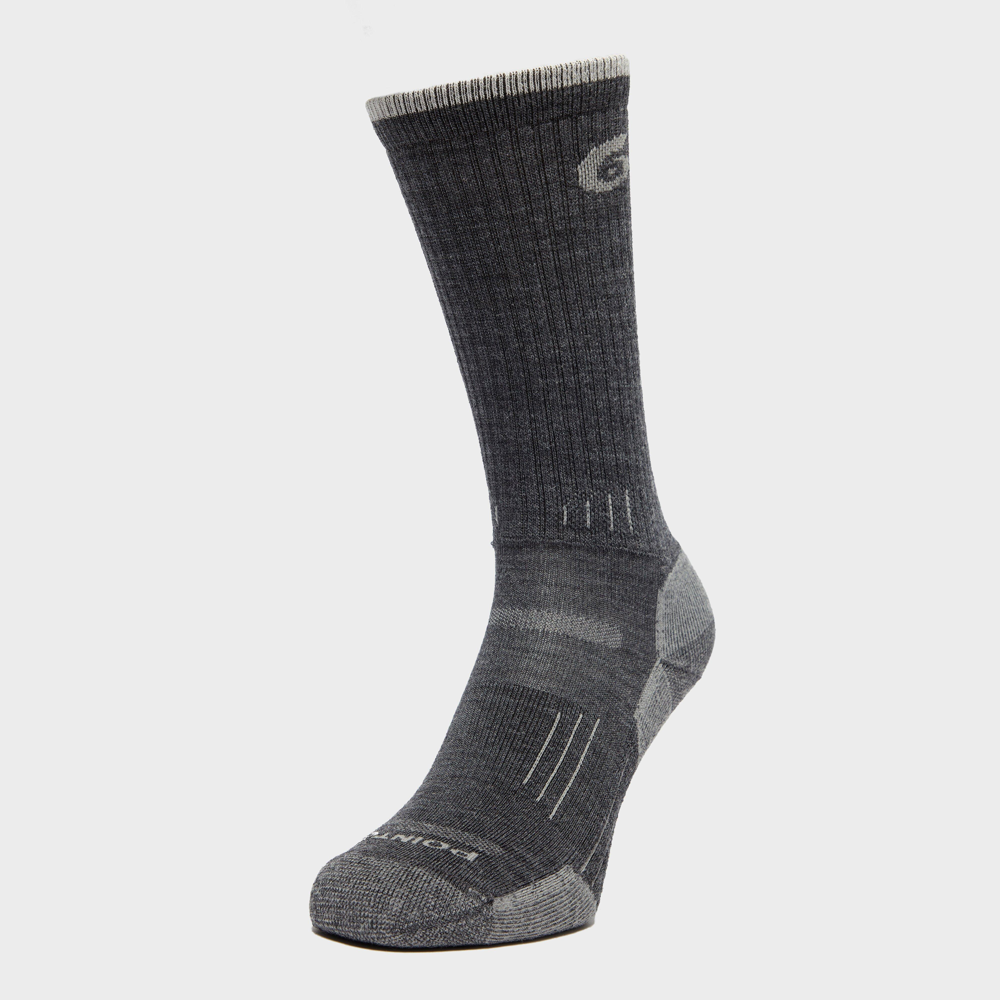 Point6 Women's Hiking Essential Light Socks, Grey