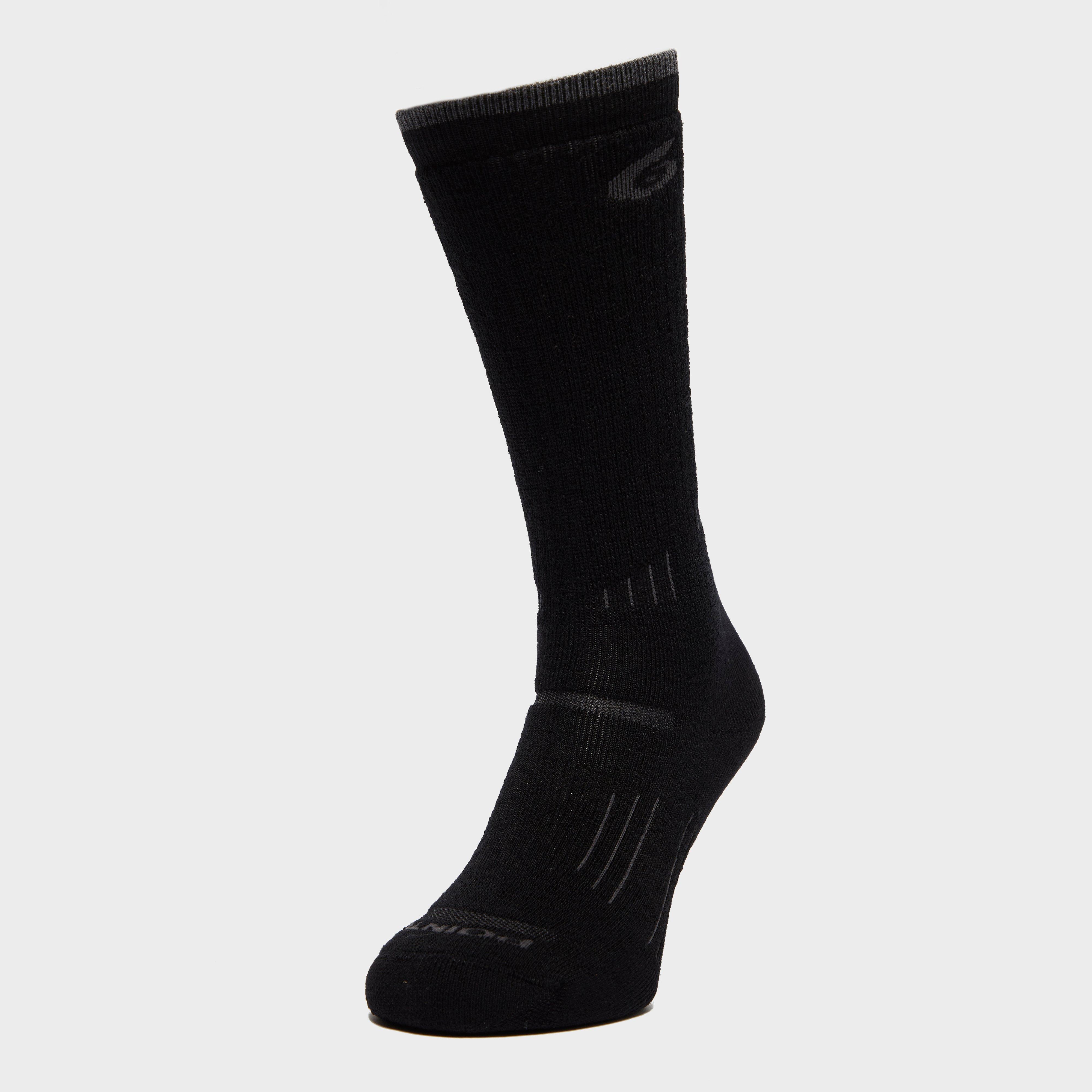 Point6 Women's Hike Medium Socks, Black