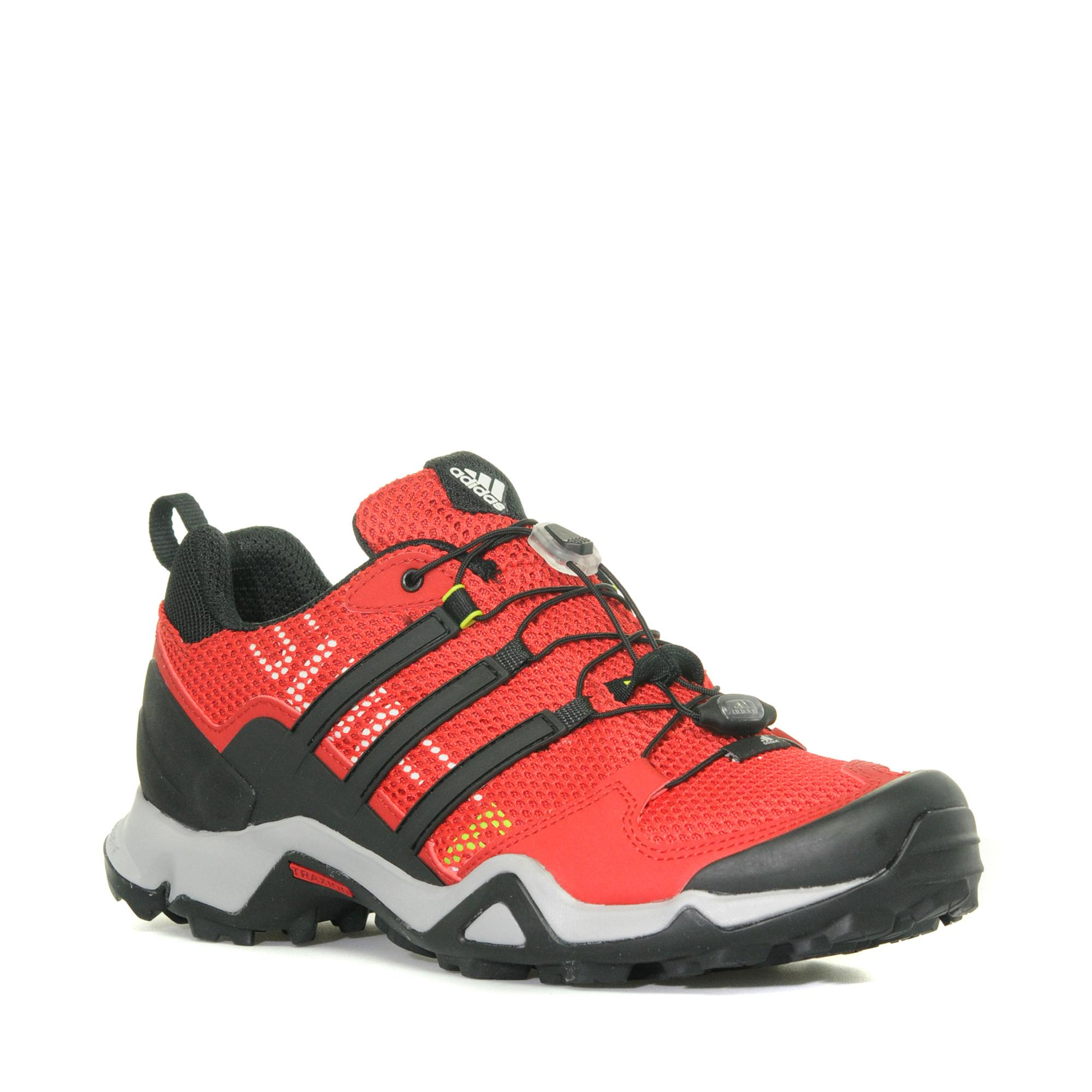 Adidas Mens Swift R Outdoor Sports Shoe Red
