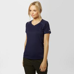 BERGHAUS Women's Short Sleeve V-Neck Tech Tee