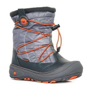 HI TEC Boys' Equinox Waterproof Snow Boot