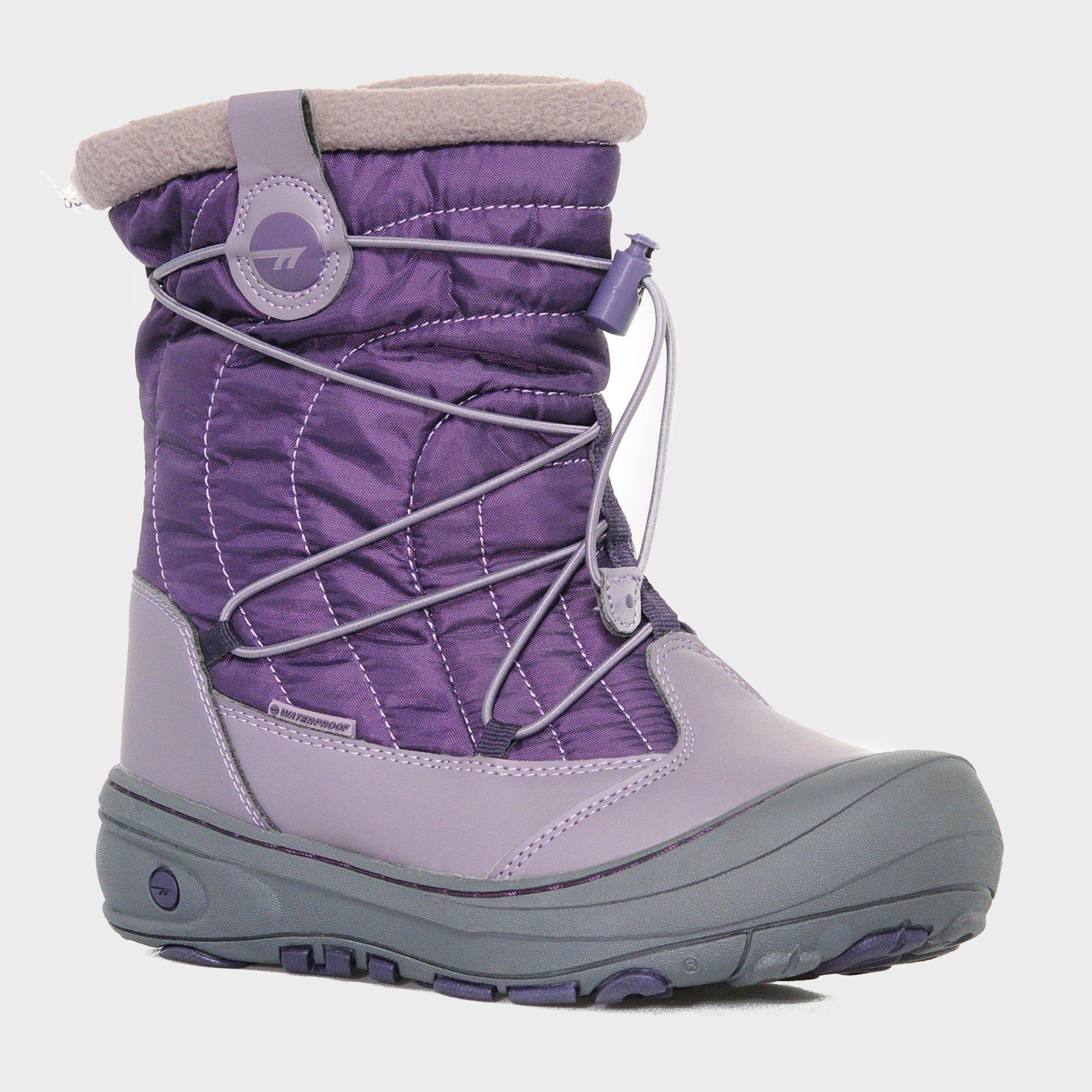 HI TEC Girls' Equinox Waterproof Snow Boot