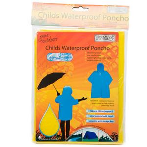 BOYZ TOYS Children's Waterproof Poncho