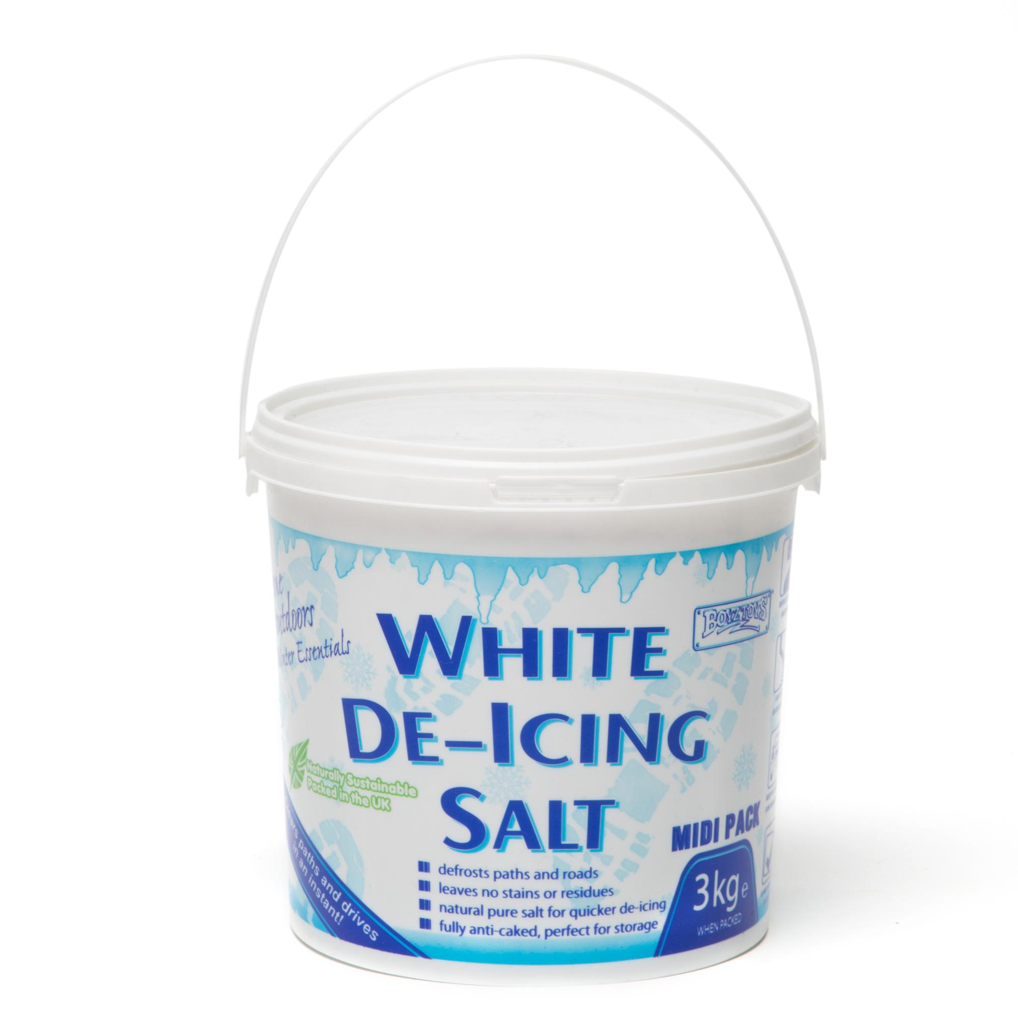 Boyz Toys White De-icing Salt Midi 3kg - White/3kg  White/3kg