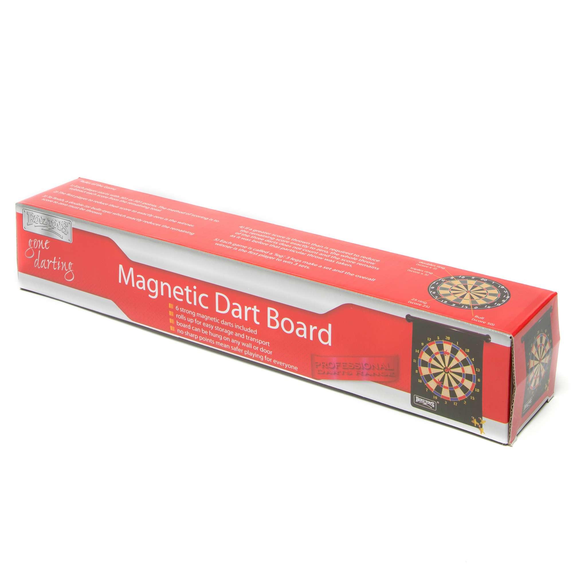 BOYZ TOYS Magnetic Dartboard
