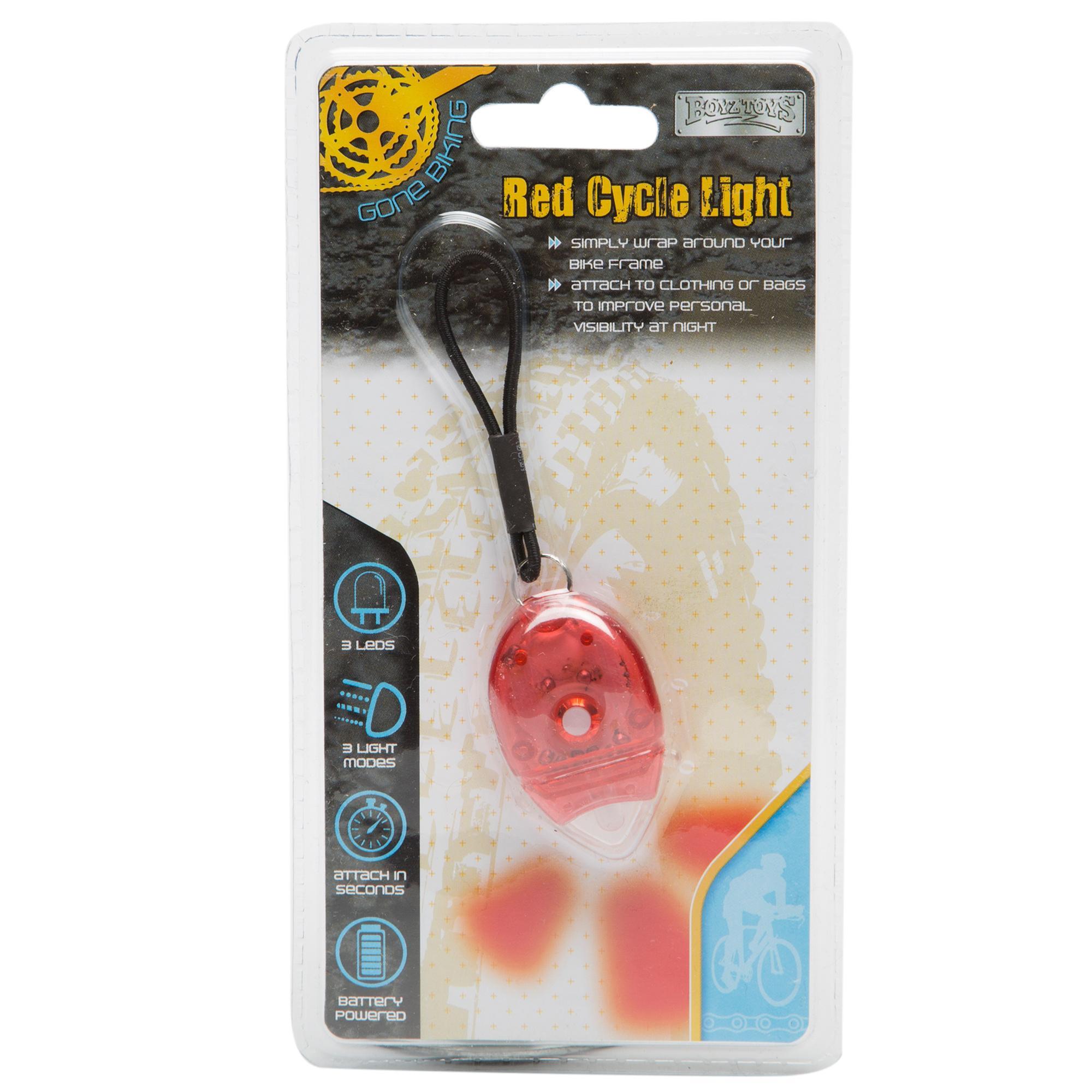 Boyz Toys Mouse Cycle Light Black