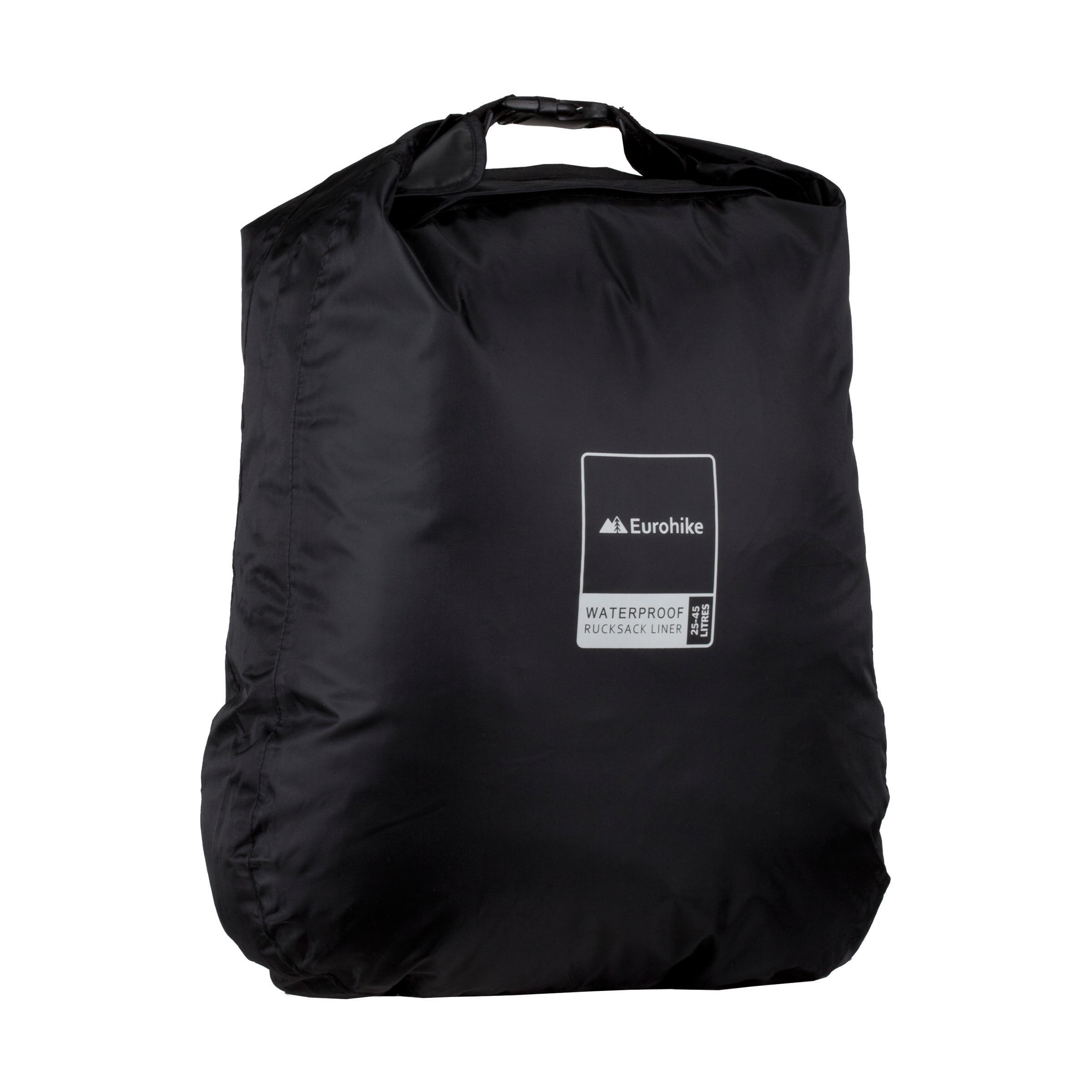 Eurohike Waterproof Rucksack Liner 2545L Black