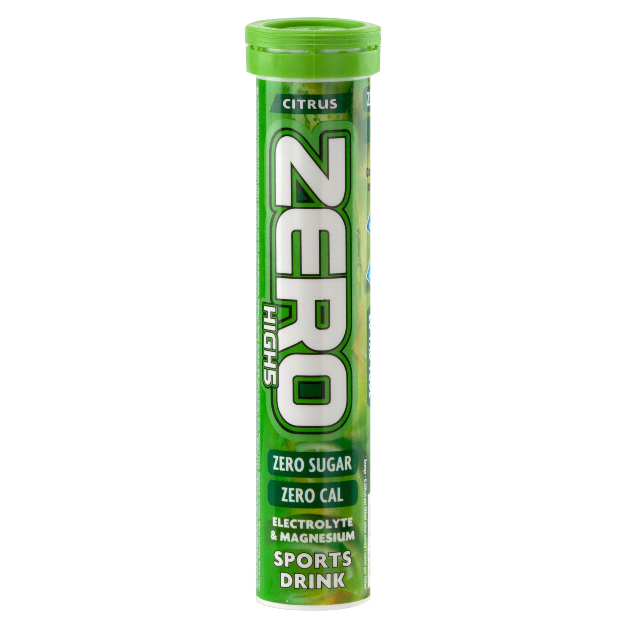 High 5 Zero Electrolyte Drinks Tablet Citrus Flavour Assorted