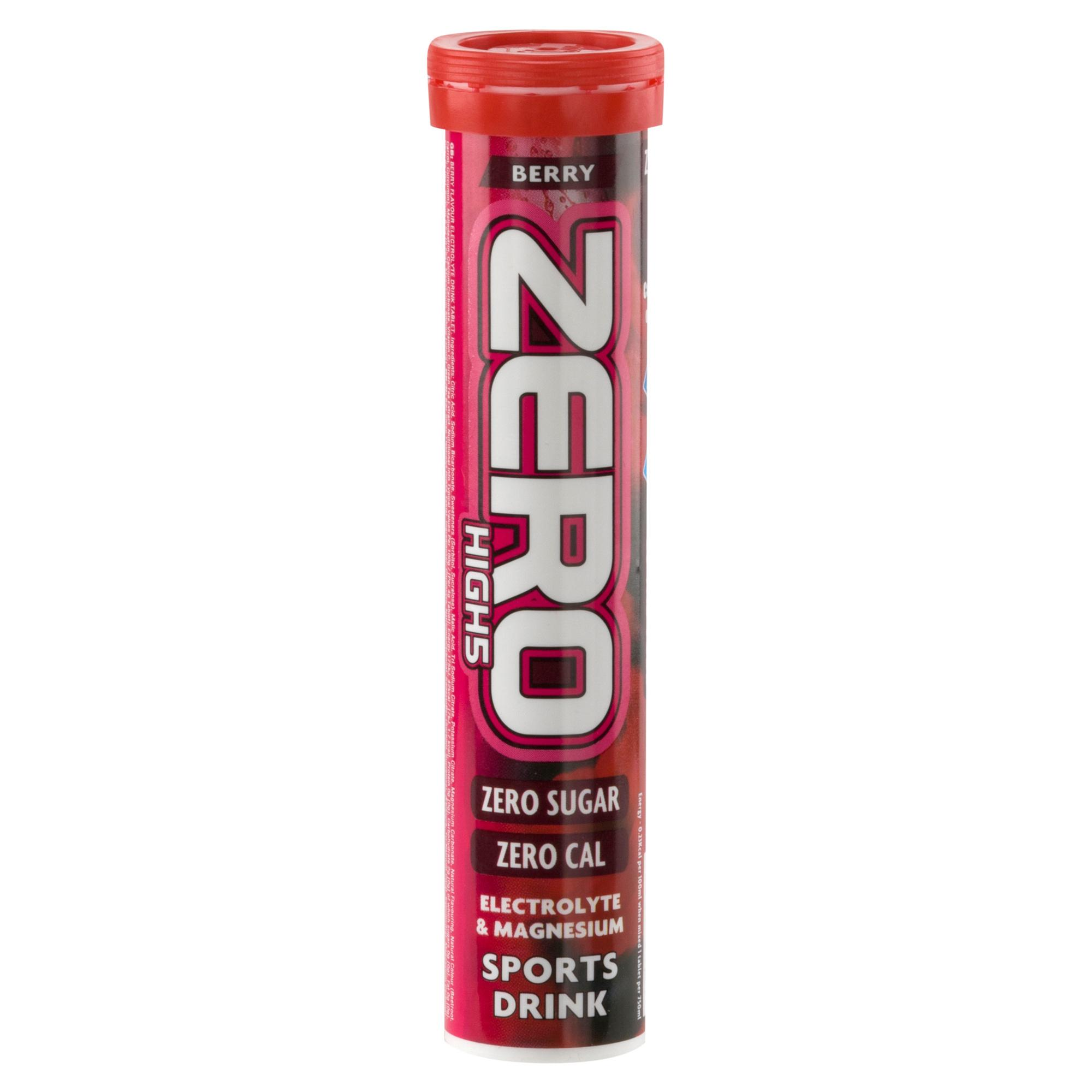 High 5 Zero Electrolyte Drinks Tablet Berry Flavour Assorted