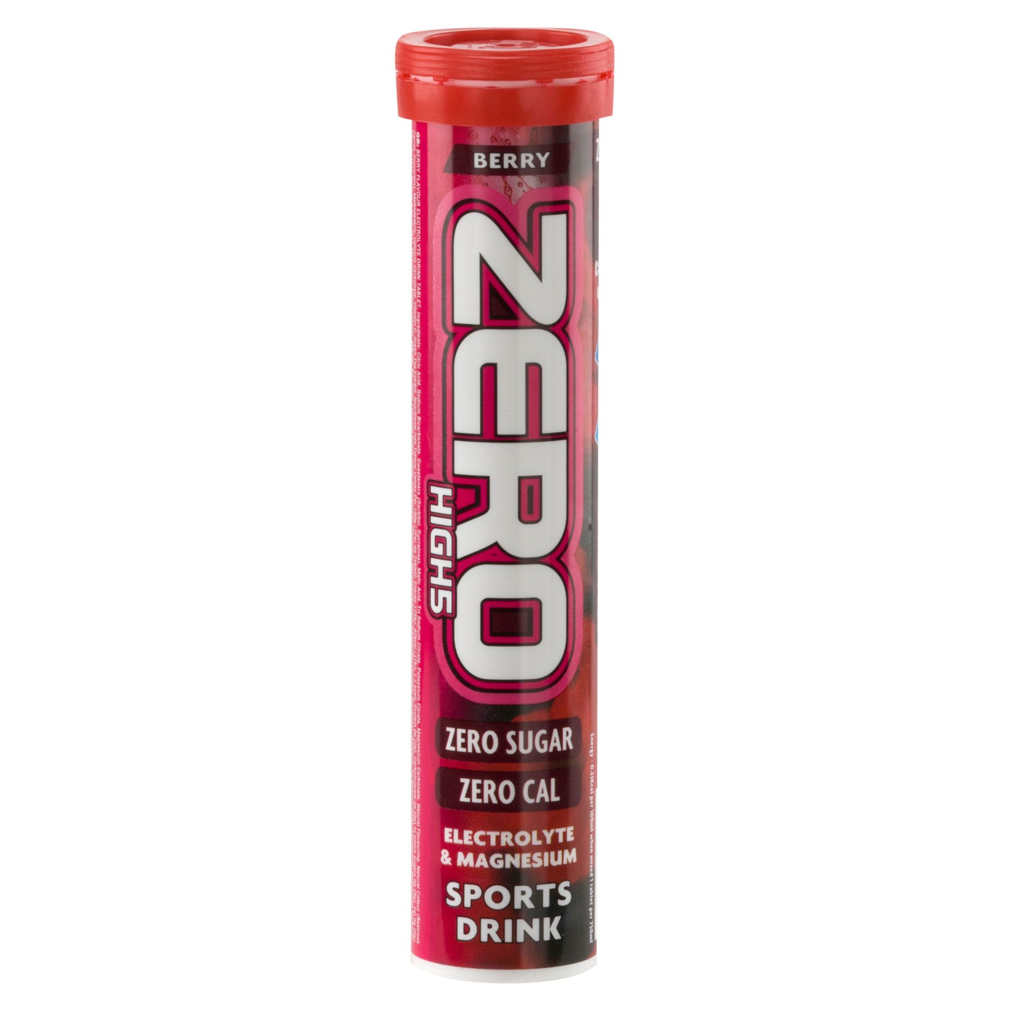 HIGH 5 Zero Electrolyte Drinks Tablet- Berry Flavour