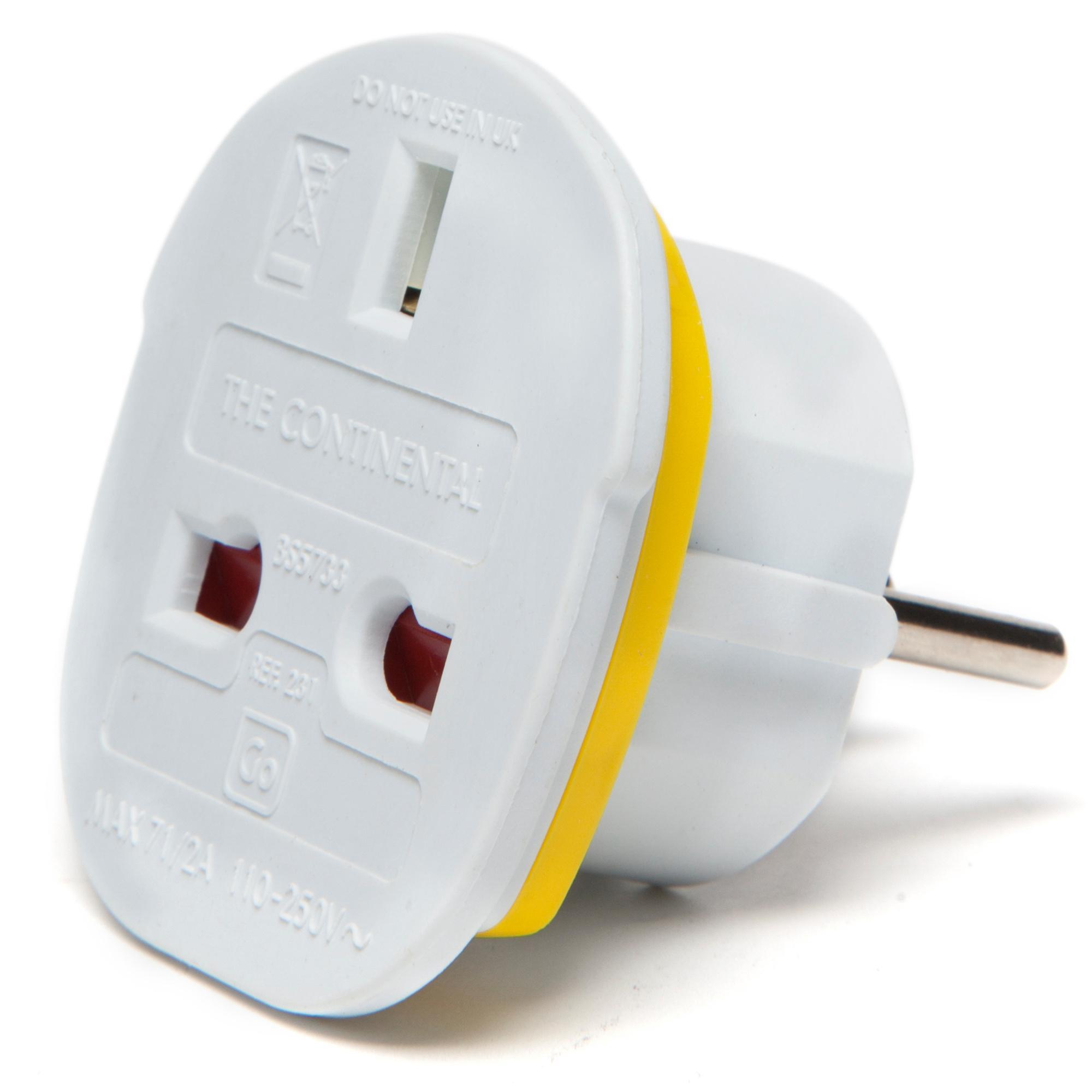 Design Go Continental Adapter, White