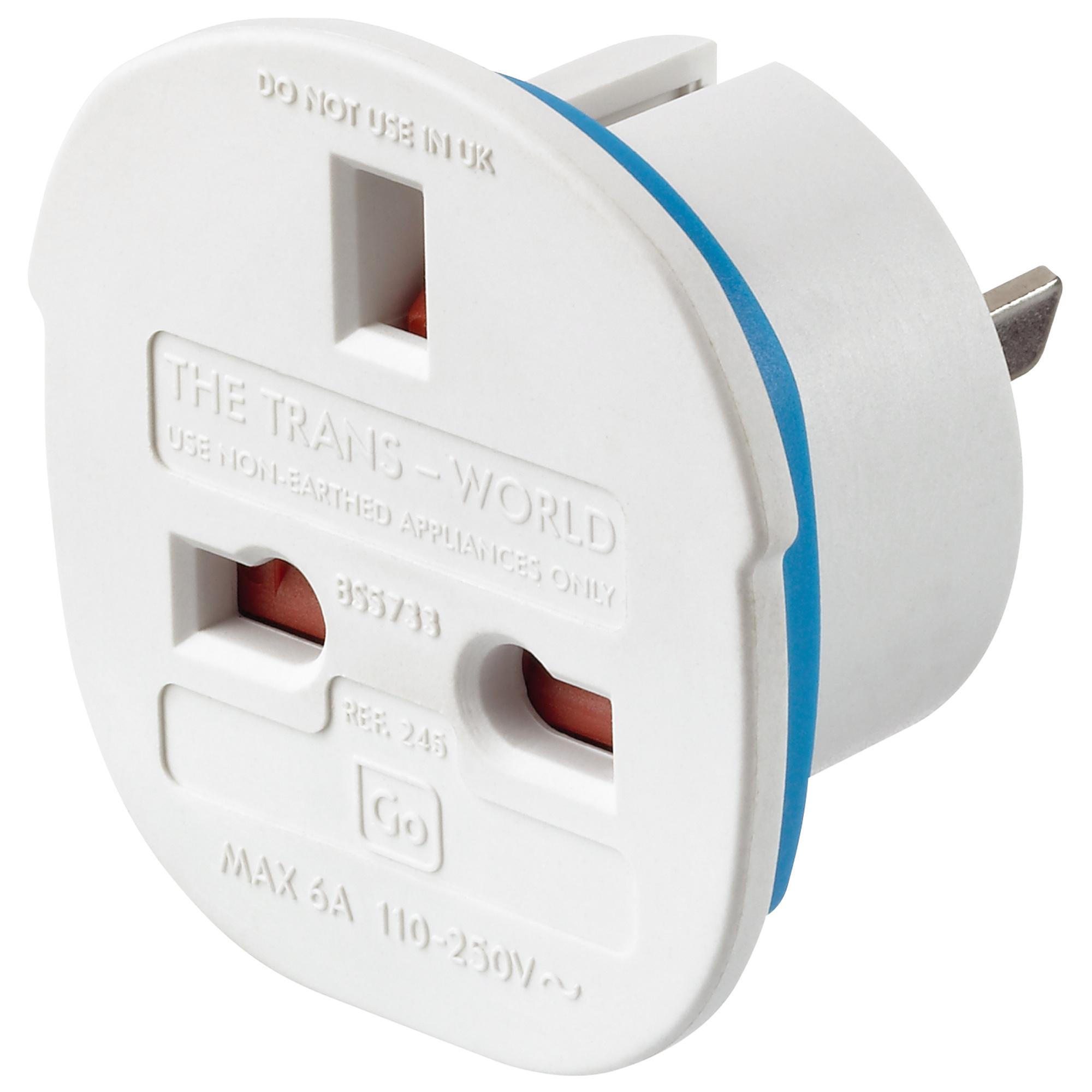 Design Go TransContinental Adapter White