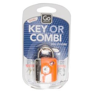DESIGN GO Dual Combi Key TSA Luggage Lock