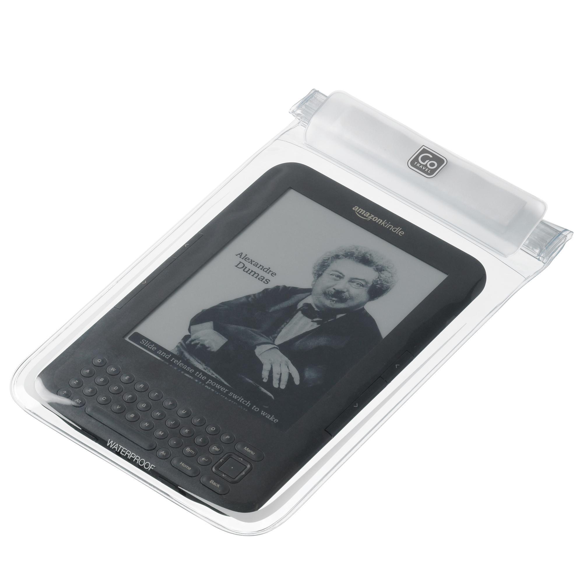 Design Go Dry e-Reader Case, Clear