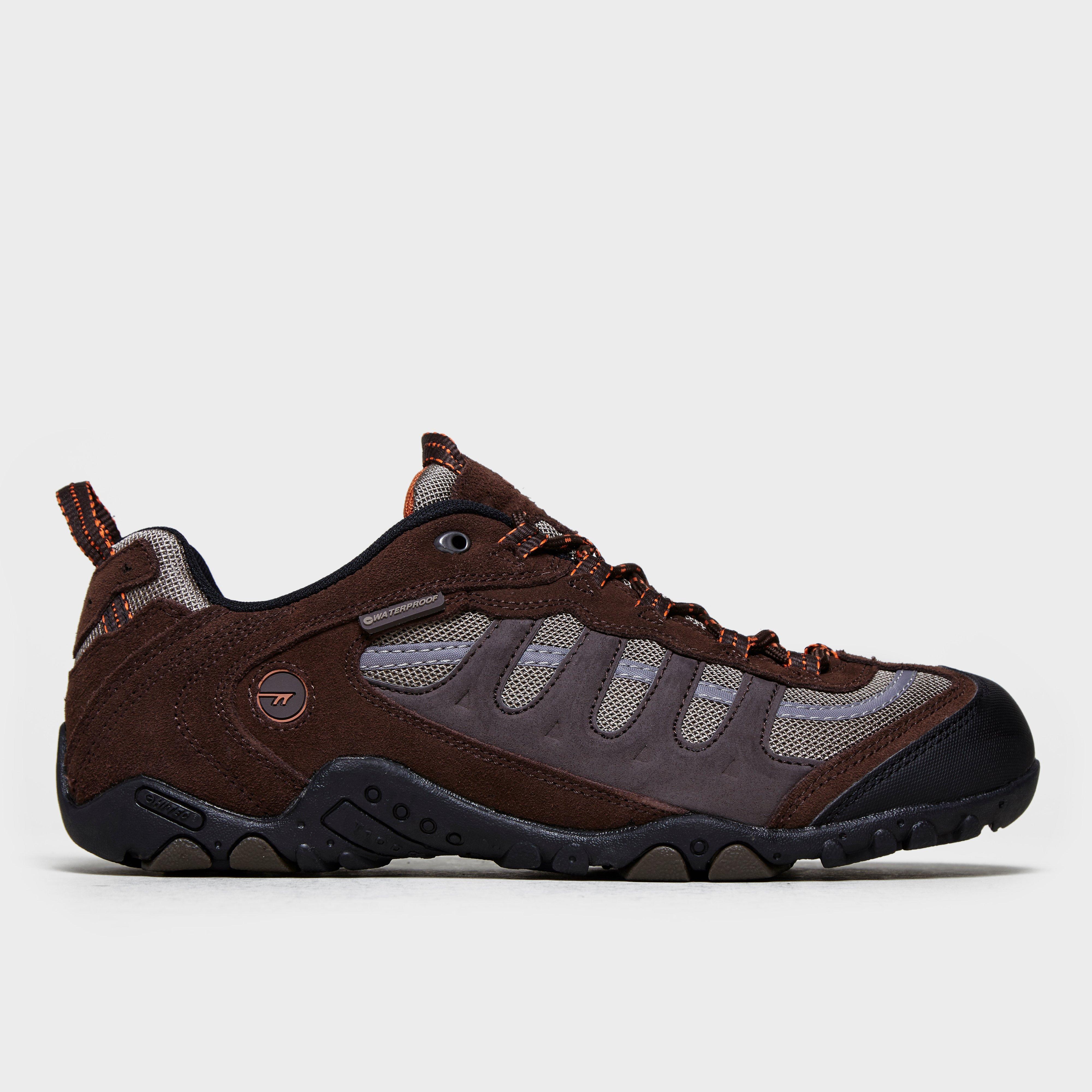 Hi Tec Mens Penrith Walking Shoes Brown