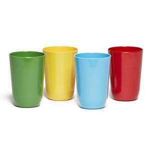 EUROHIKE 4 Plain Melamine Cups