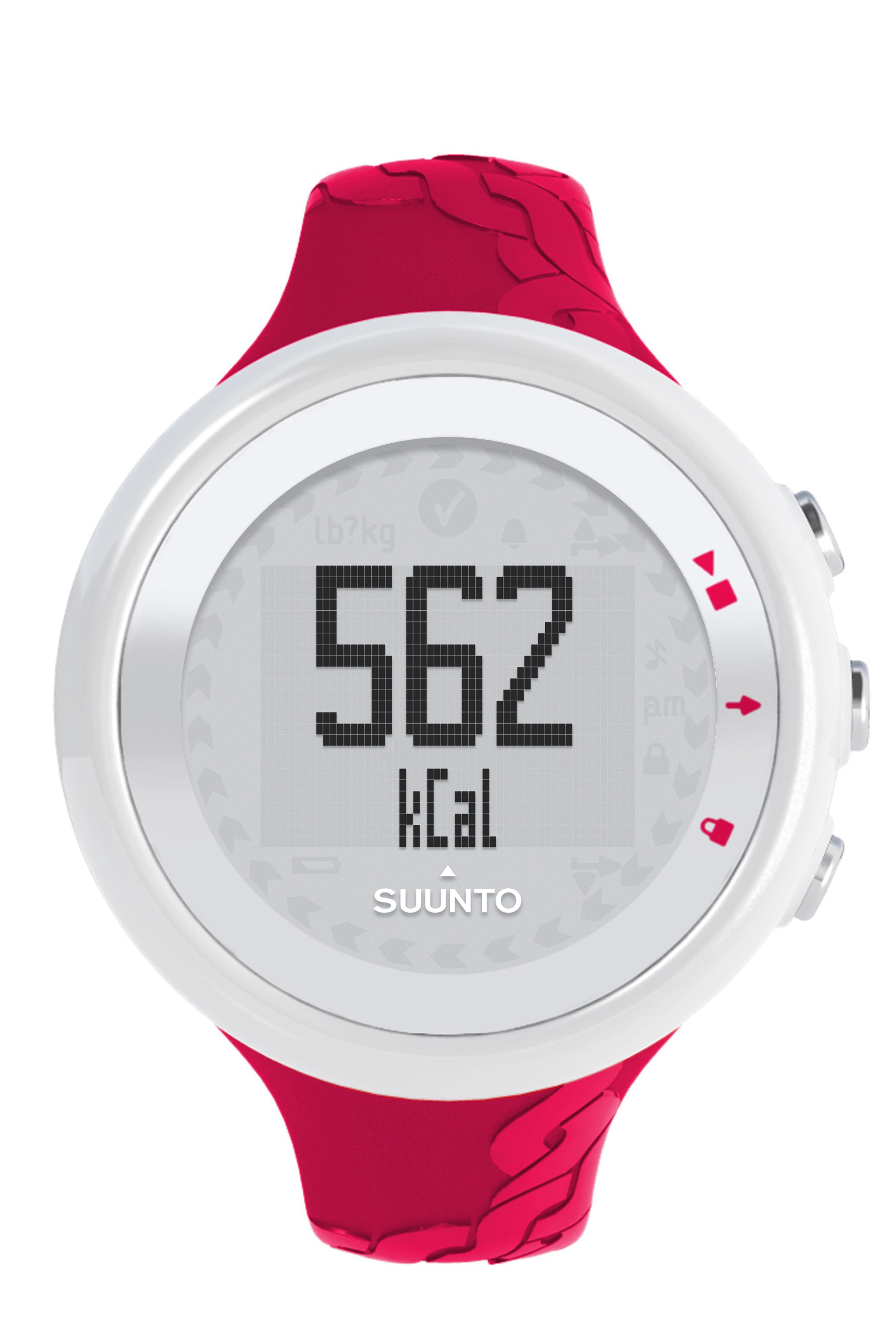 Suunto Suunto M2 Heart Rate Monitor Watch  Dark Pink Dark Pink