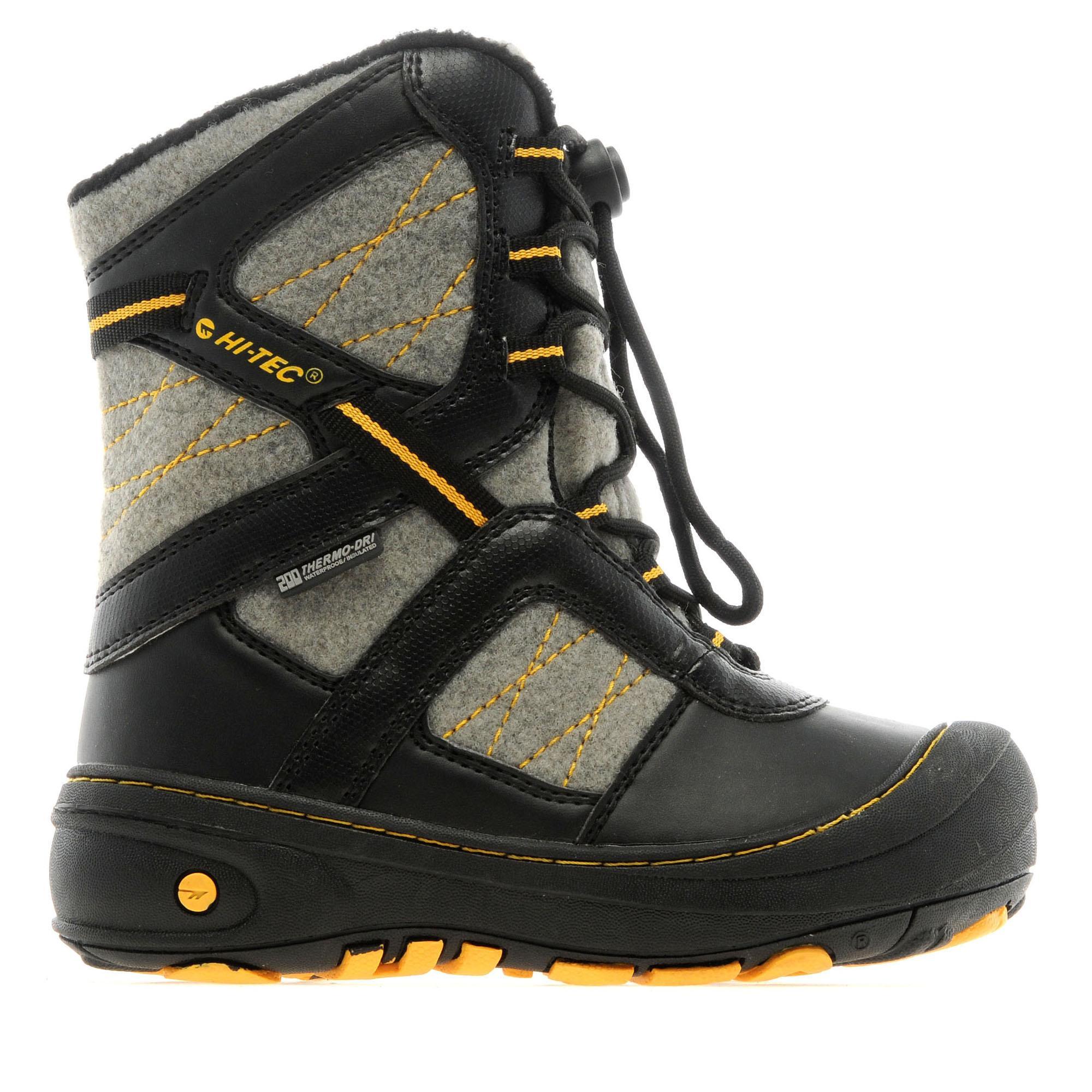 Hi Tec Boys Slalom 200 Boots Grey