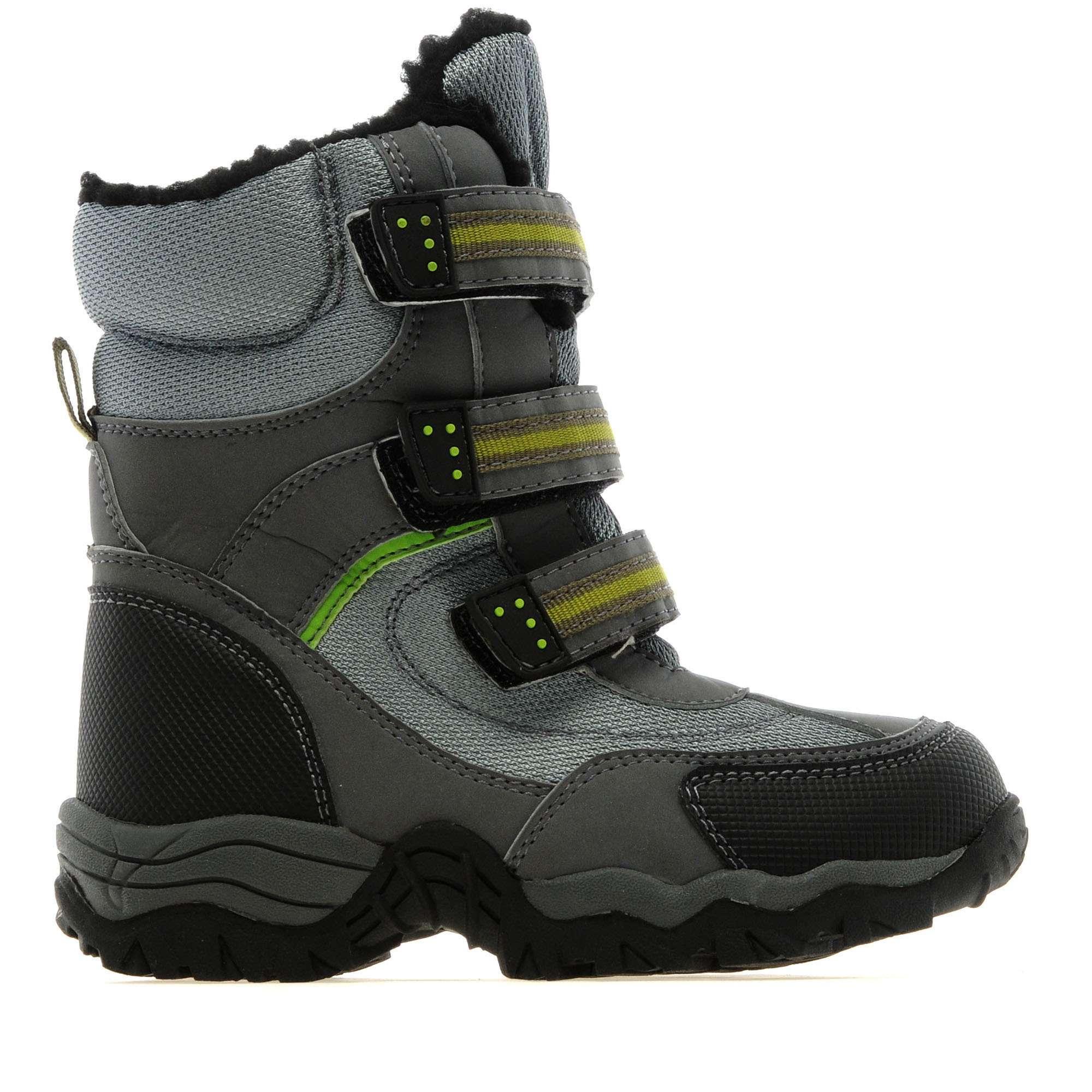 ALPINE Boy's Fur Snow Boots