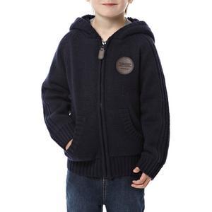 PETER STORM Boy's Borg Lined Zip Cardigan