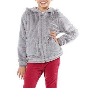 PETER STORM Girl's Fluffy Velsoft Hooded Jacket