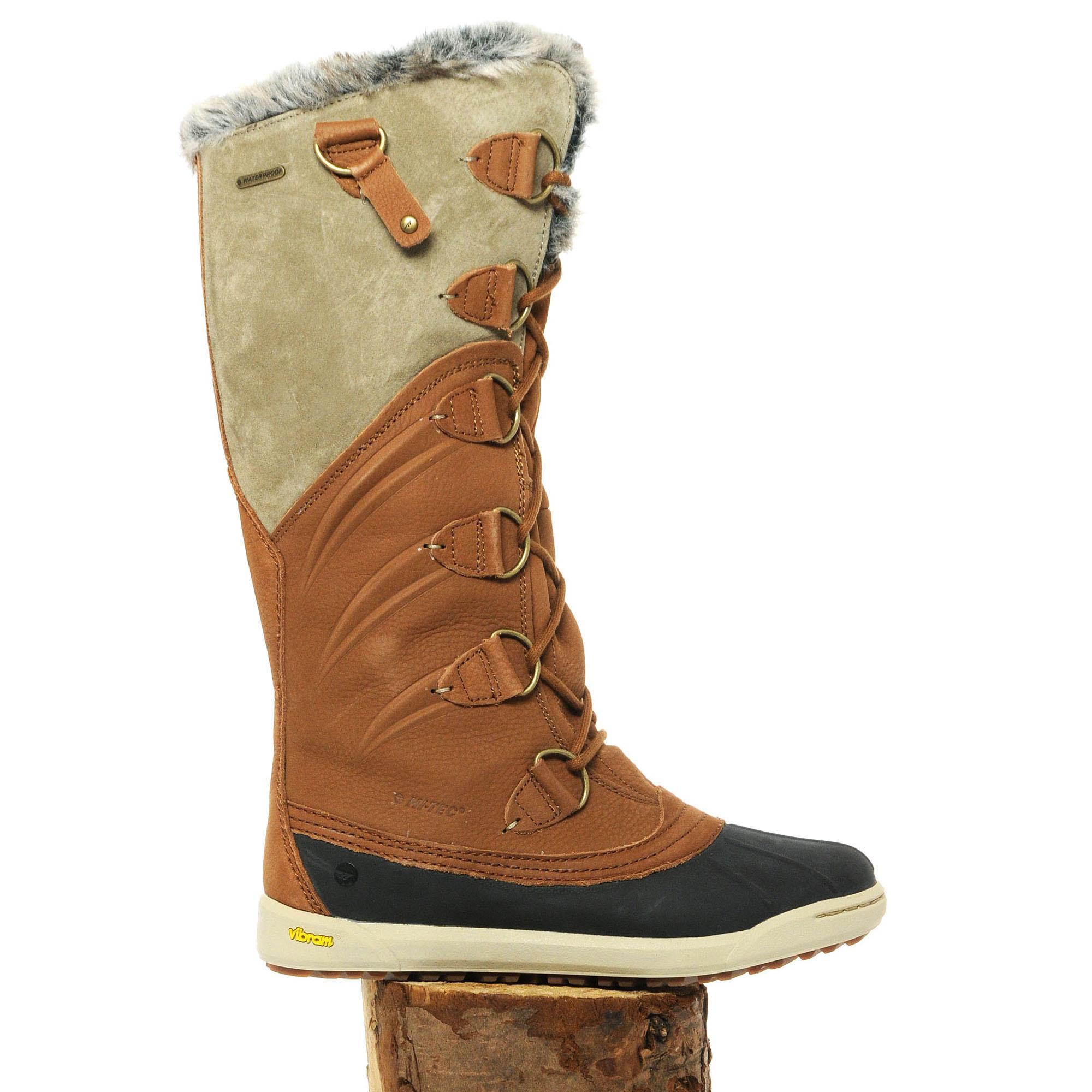 Hi Tec Womens Sierra Pamir Boots Brown