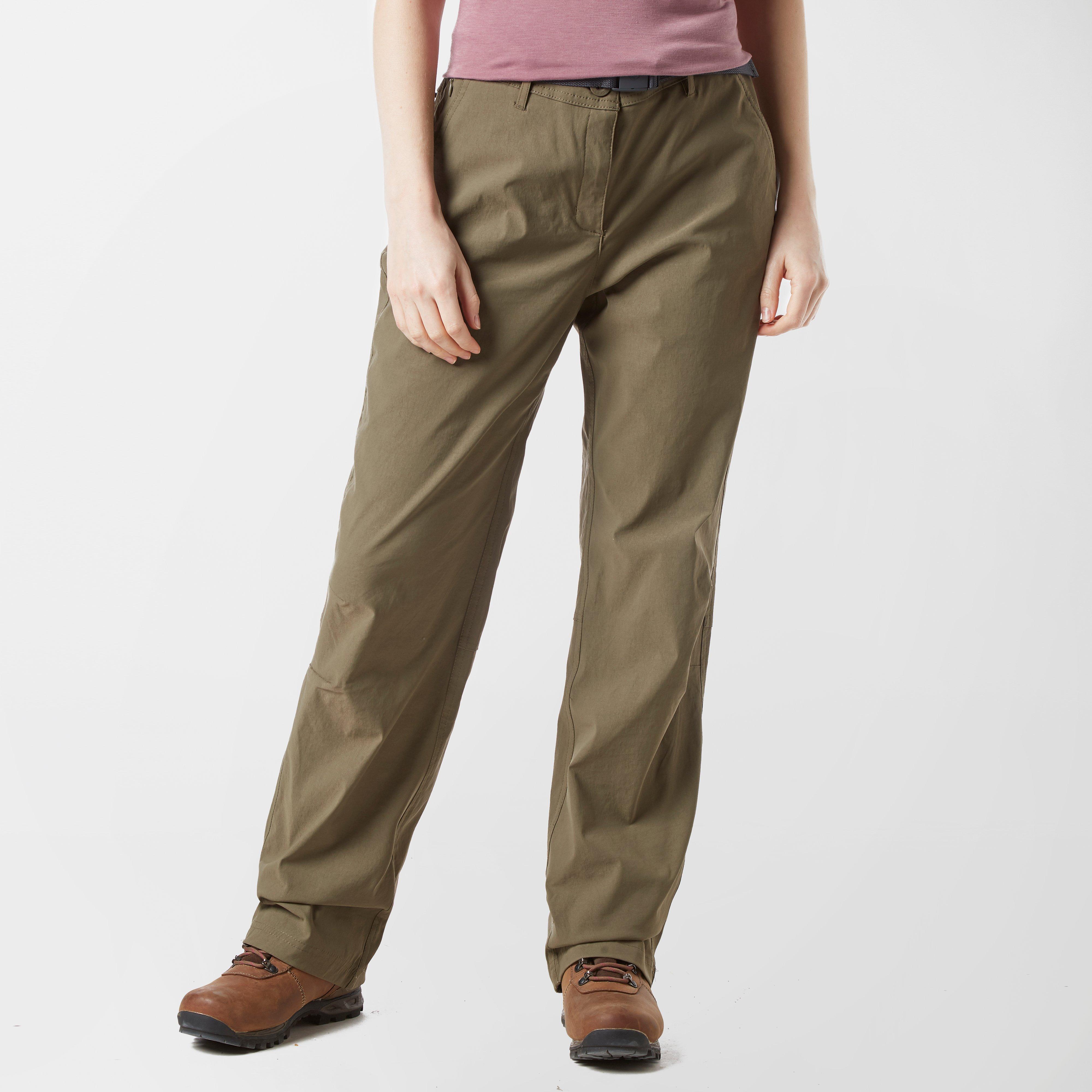 Brasher Womens Stretch Trousers - Khaki  Khaki