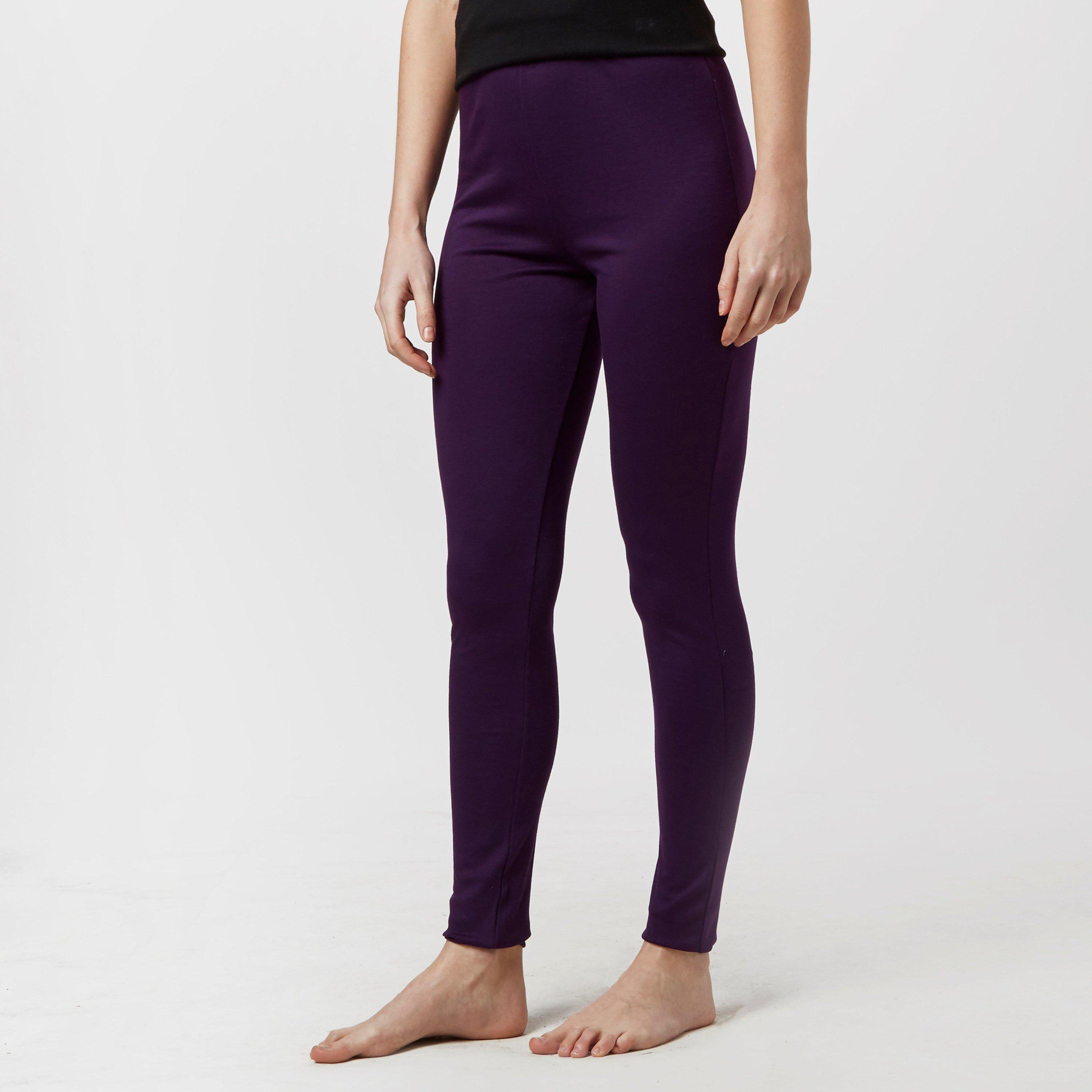 Peter Storm Women's Thermal Base Layer Pants, Purple