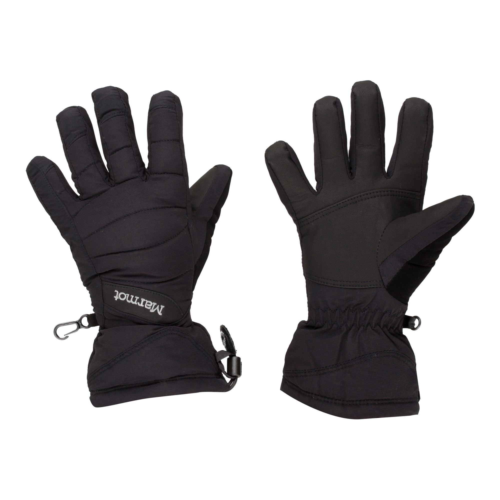 Marmot Women's Moraine Ski Gloves, Black
