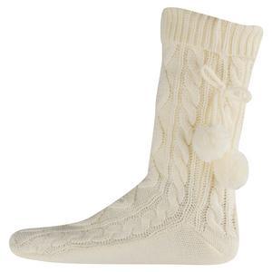 PETER STORM Women's Cable Slipper Socks