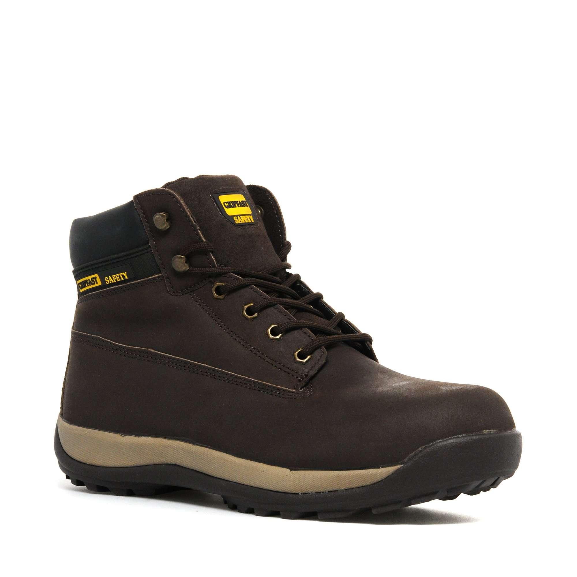 GRIPFAST Men's Brown Boot Thunder Industrial Shoes