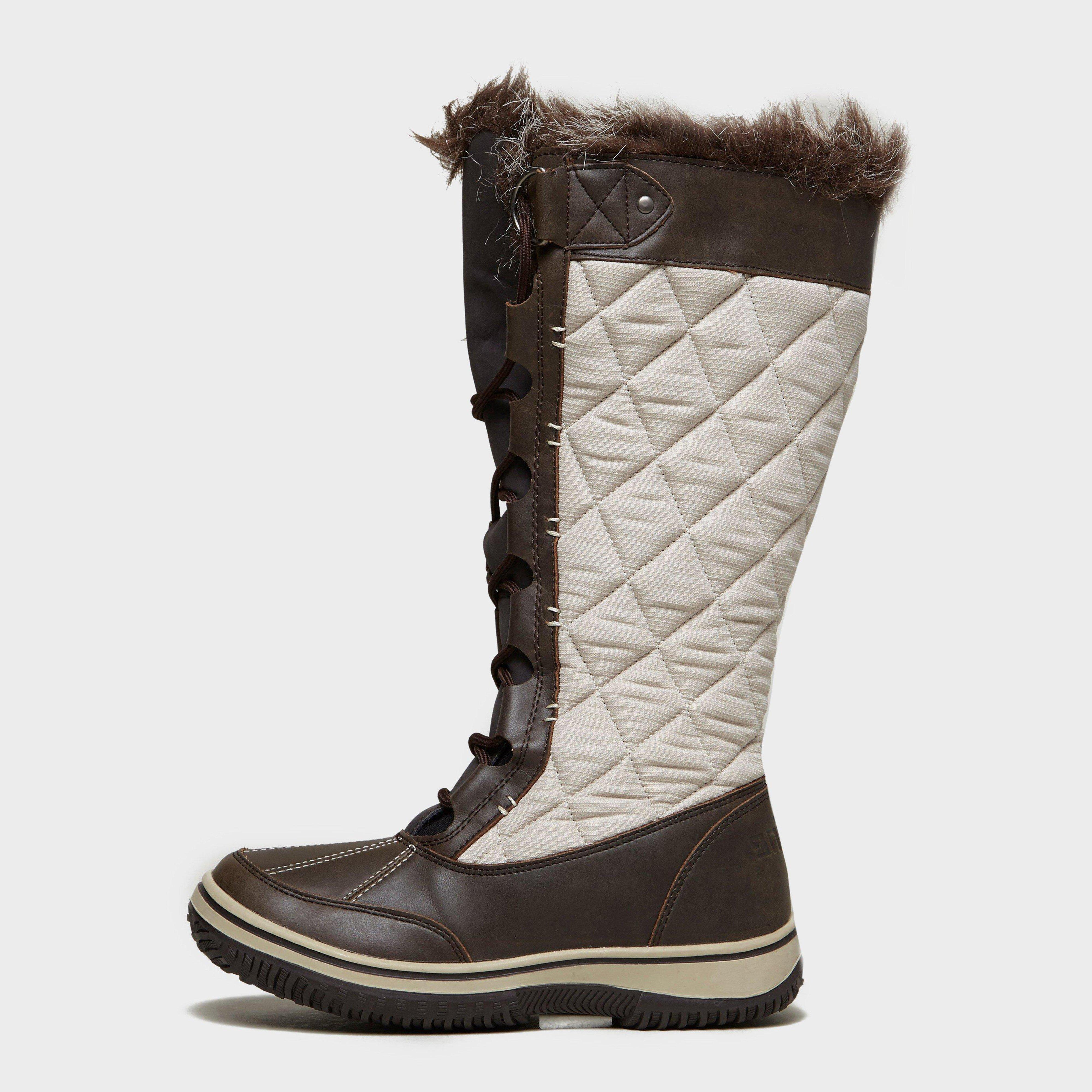 Creative White Rock Flake Waterproof Snow Boots  Click To View A Larger Image