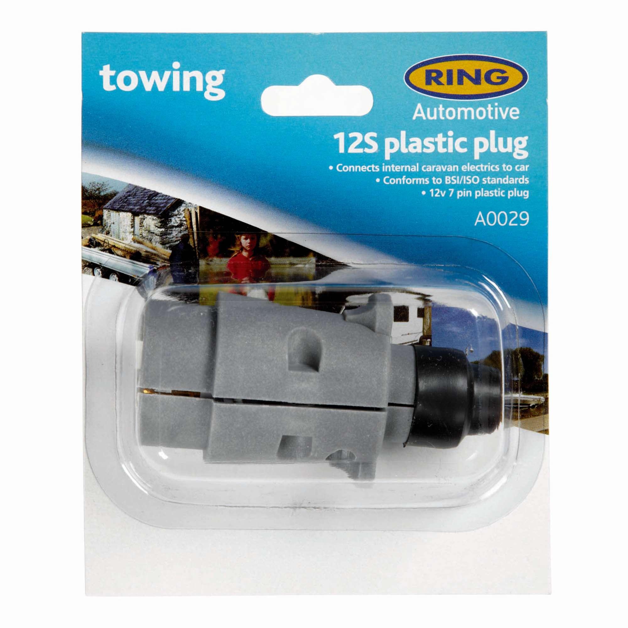 RING 12S 7 Pin Plastic Plug (A0029)