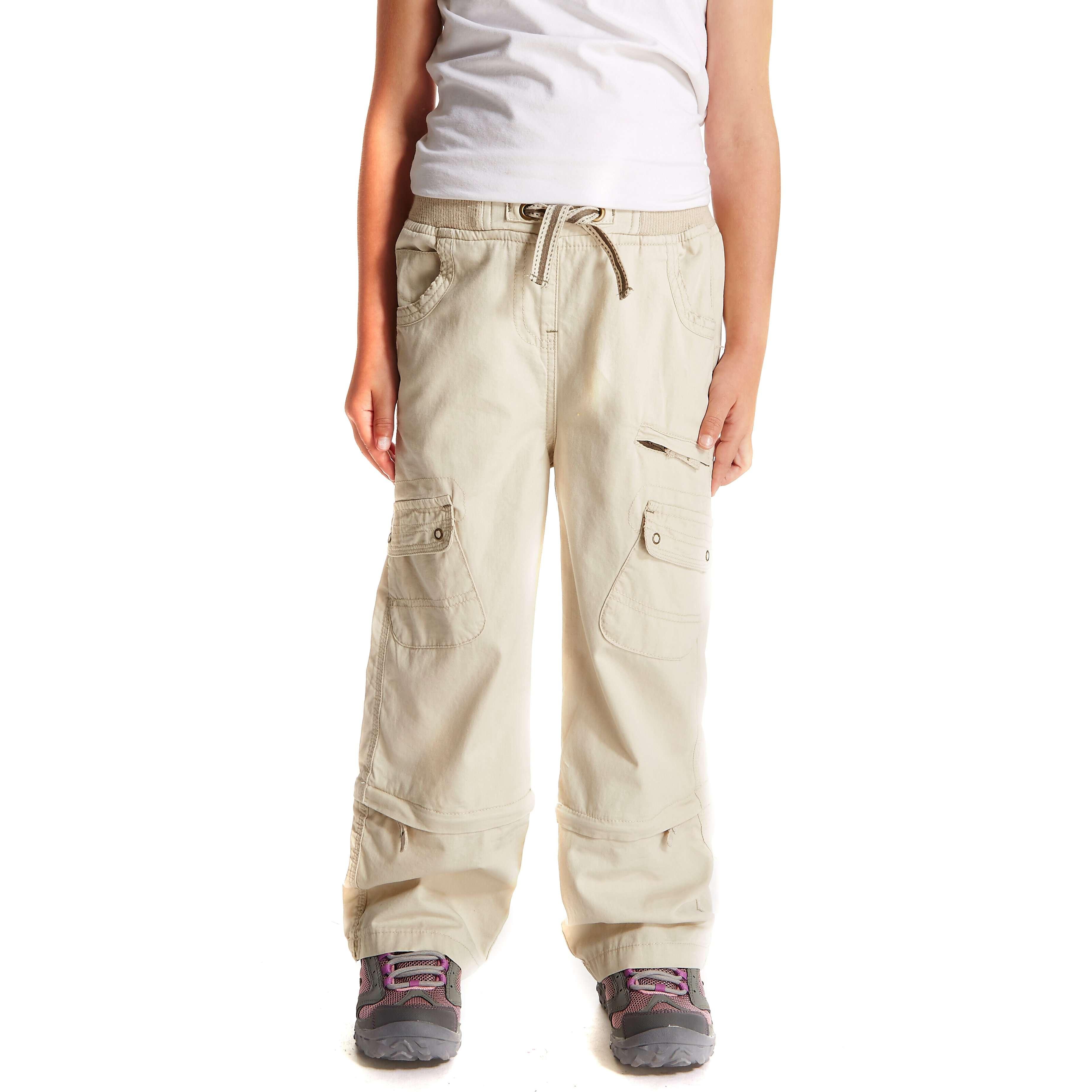 PETER STORM Girl's Zip Off Trousers