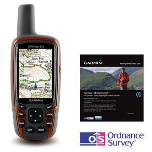 GARMIN GPSMAP 62s Discoverer™ Bundle (with GB 1:50K Map)