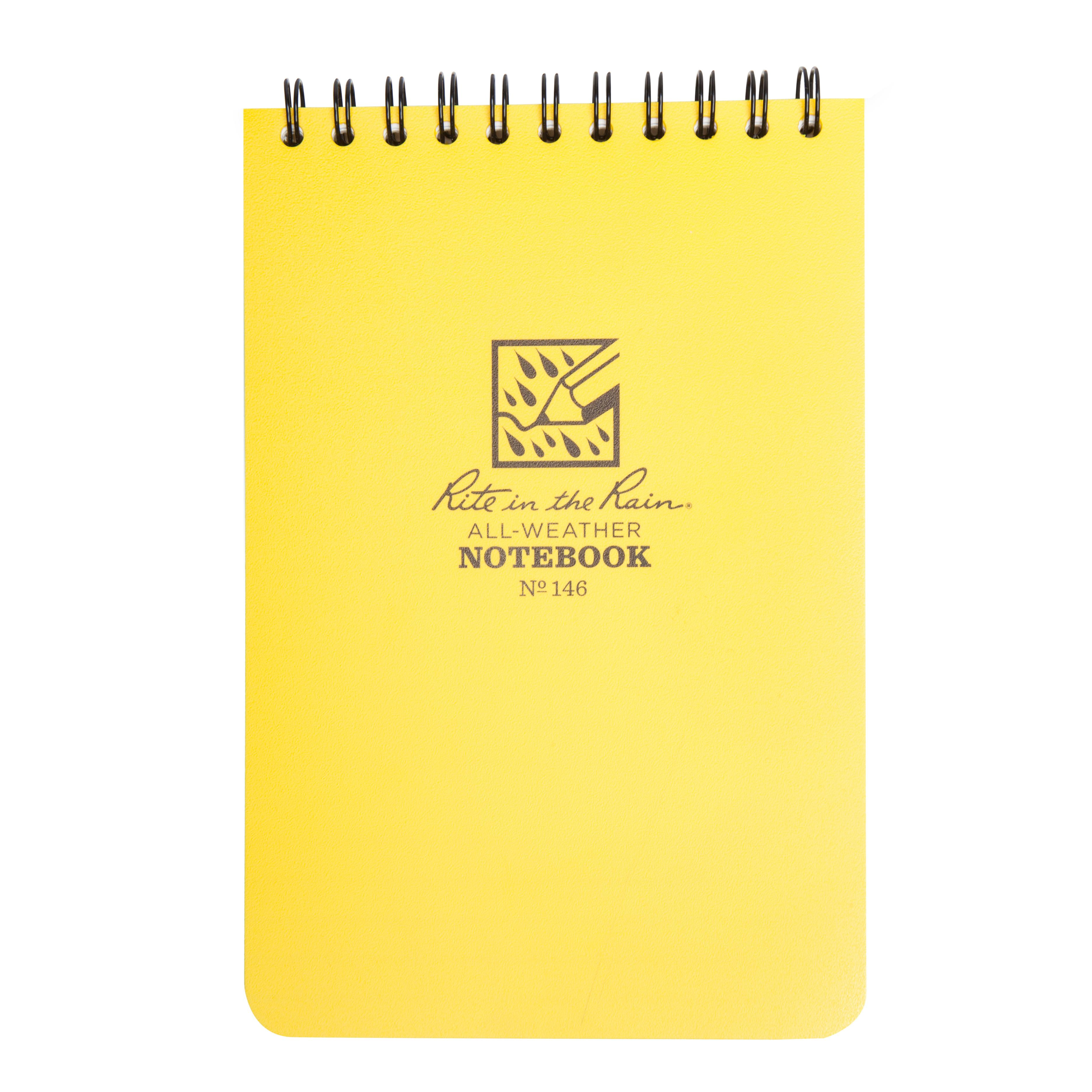 Rite Waterproof Notepad (6x4) Assorted