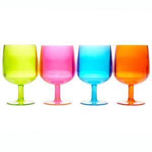 EUROHIKE Plain Wine Glasses - 4 Pack