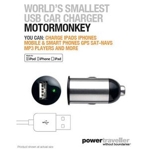 POWERTRAVELLER MotorMonkey In-Car Charger