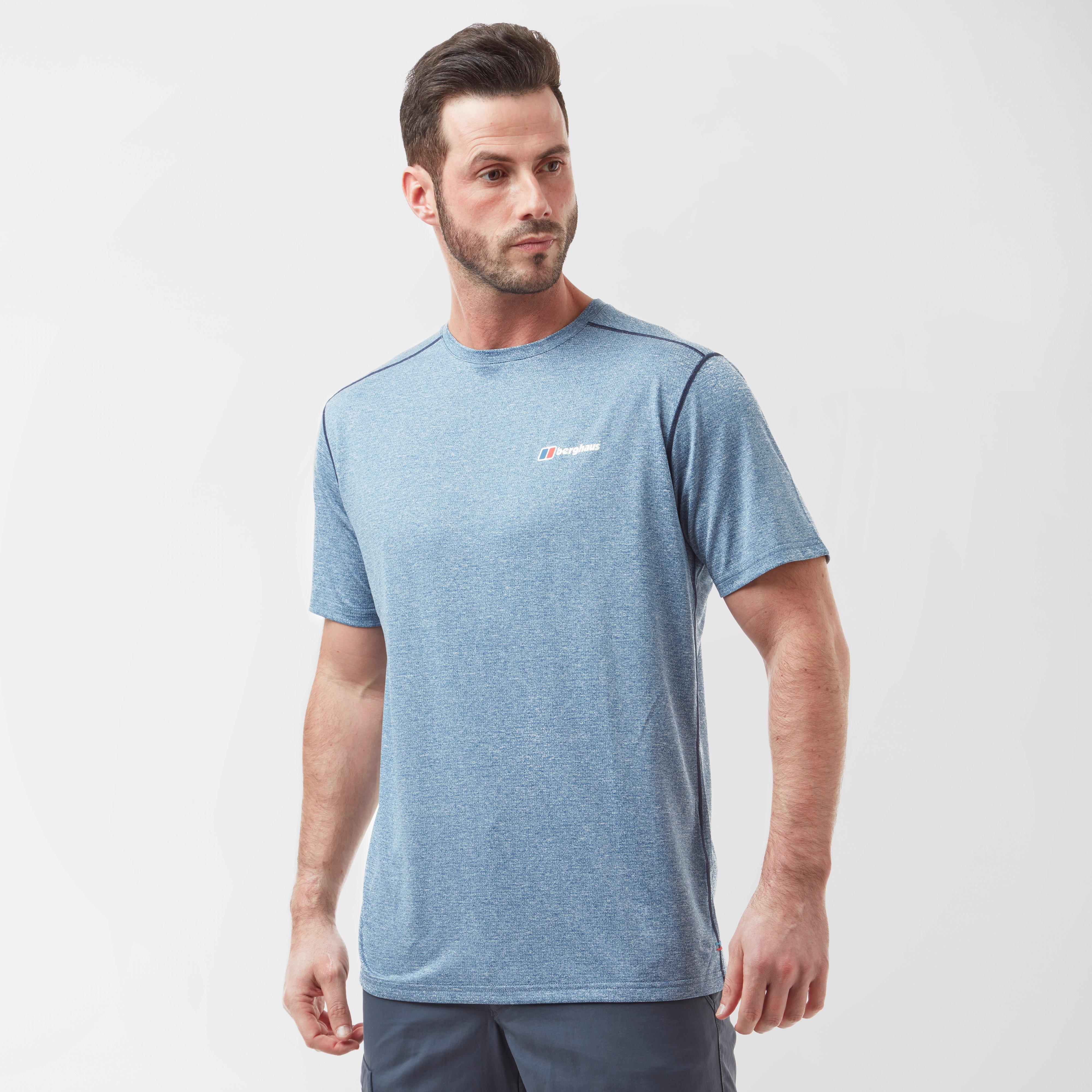Berghaus Mens Short Sleeve Crew 2.0 T-shirt - Blue  Blue