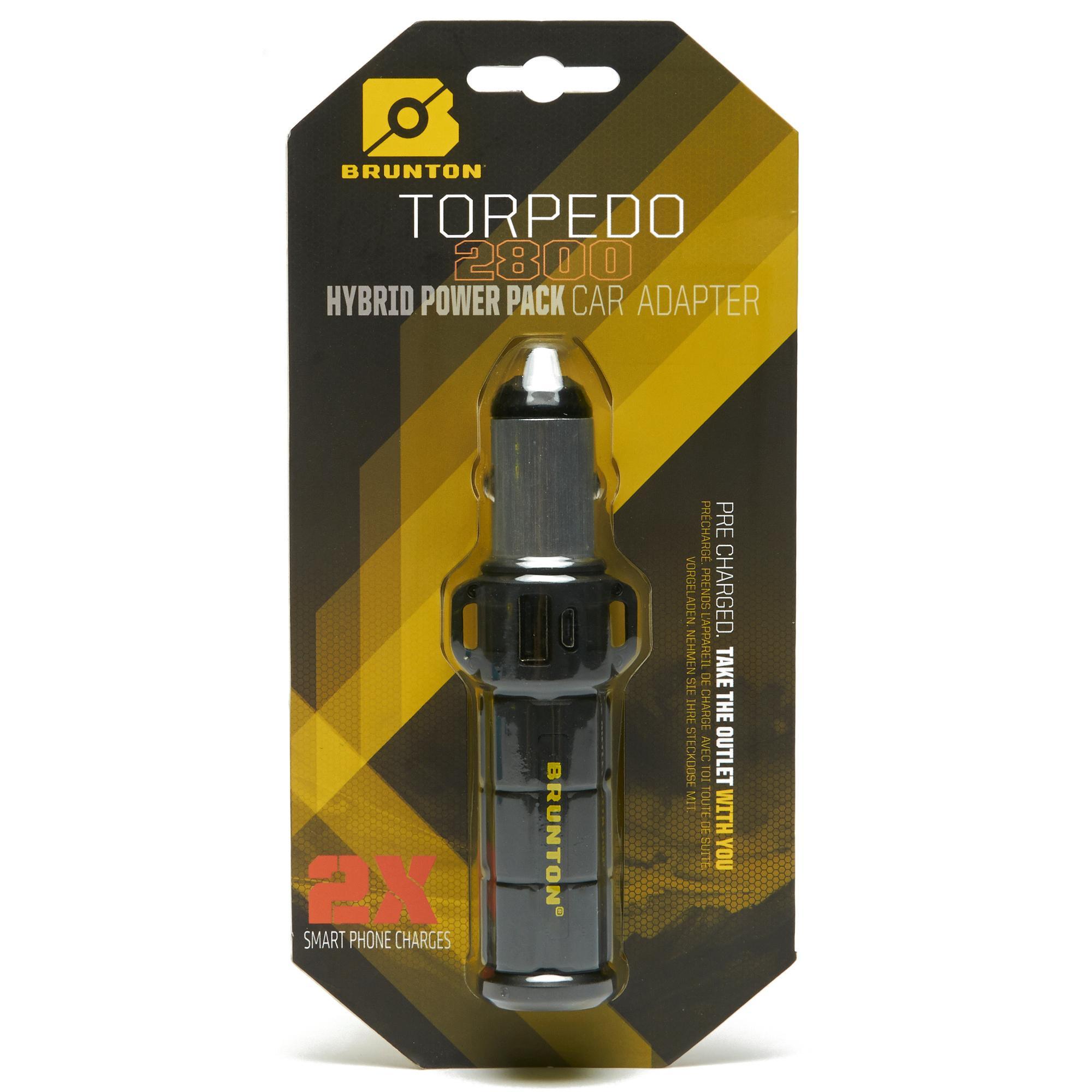 Brunton Torpedo 2800 Charger - Black, Black