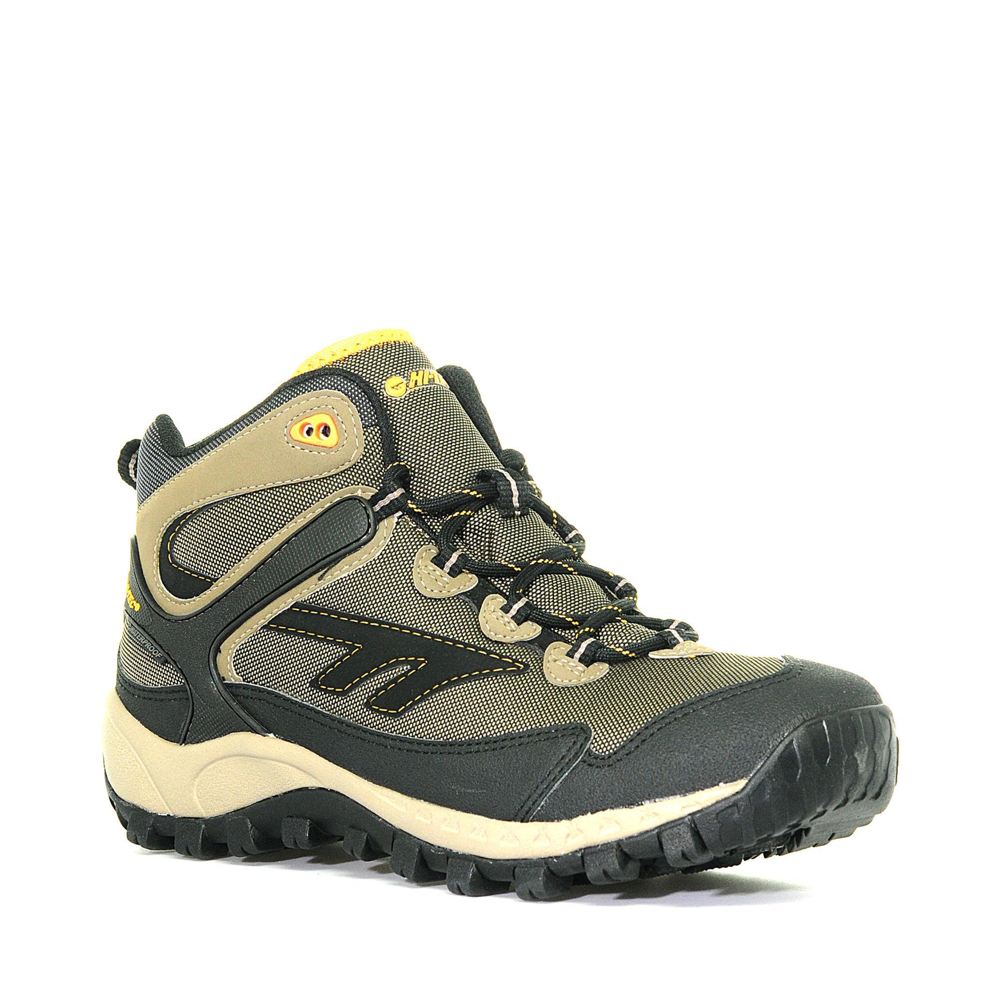 Hi Tec Mens Raider Mid Waterproof Walking Shoe Beige