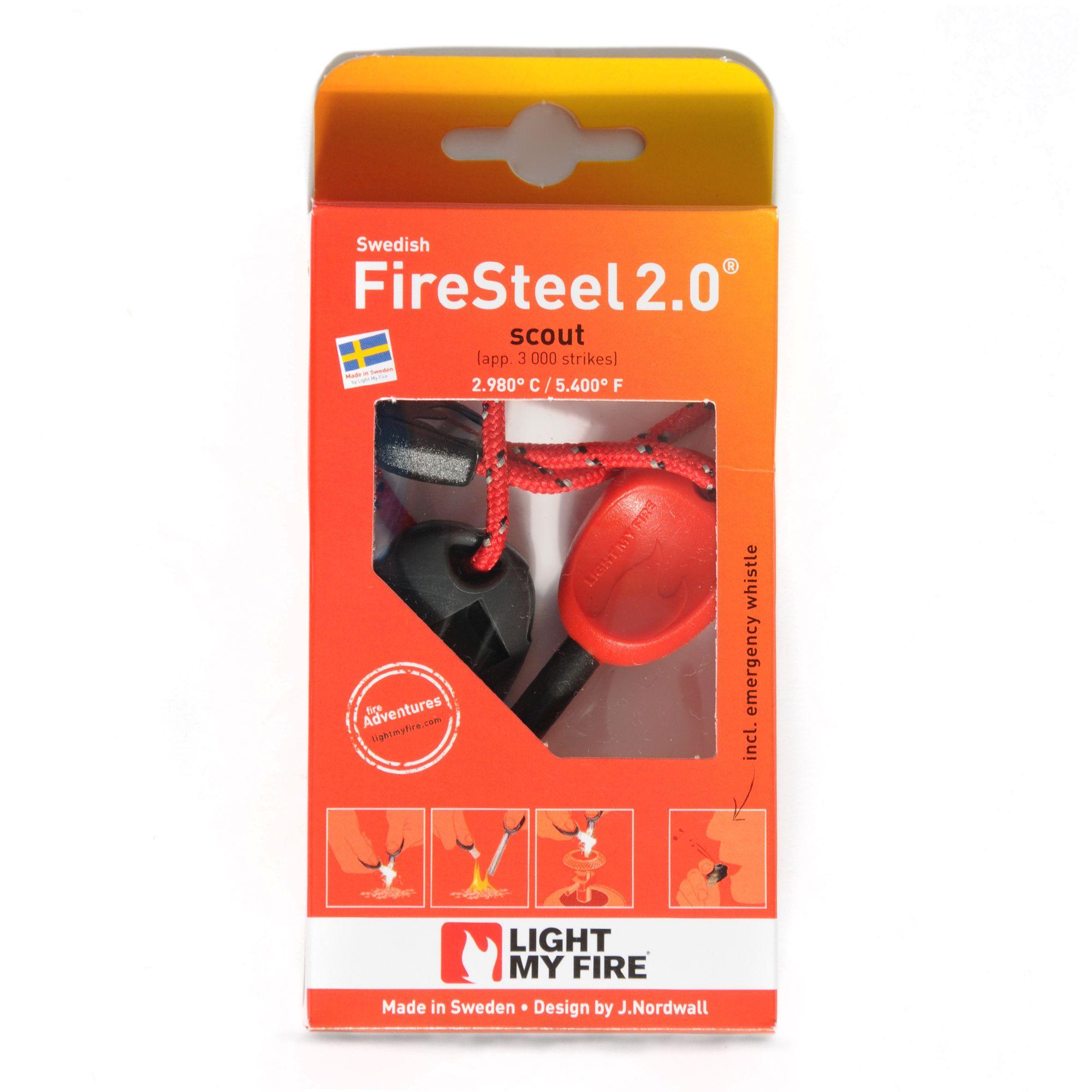 LIGHT MY FIRE Swedish FireSteel 2.0® Scout Fire Starter